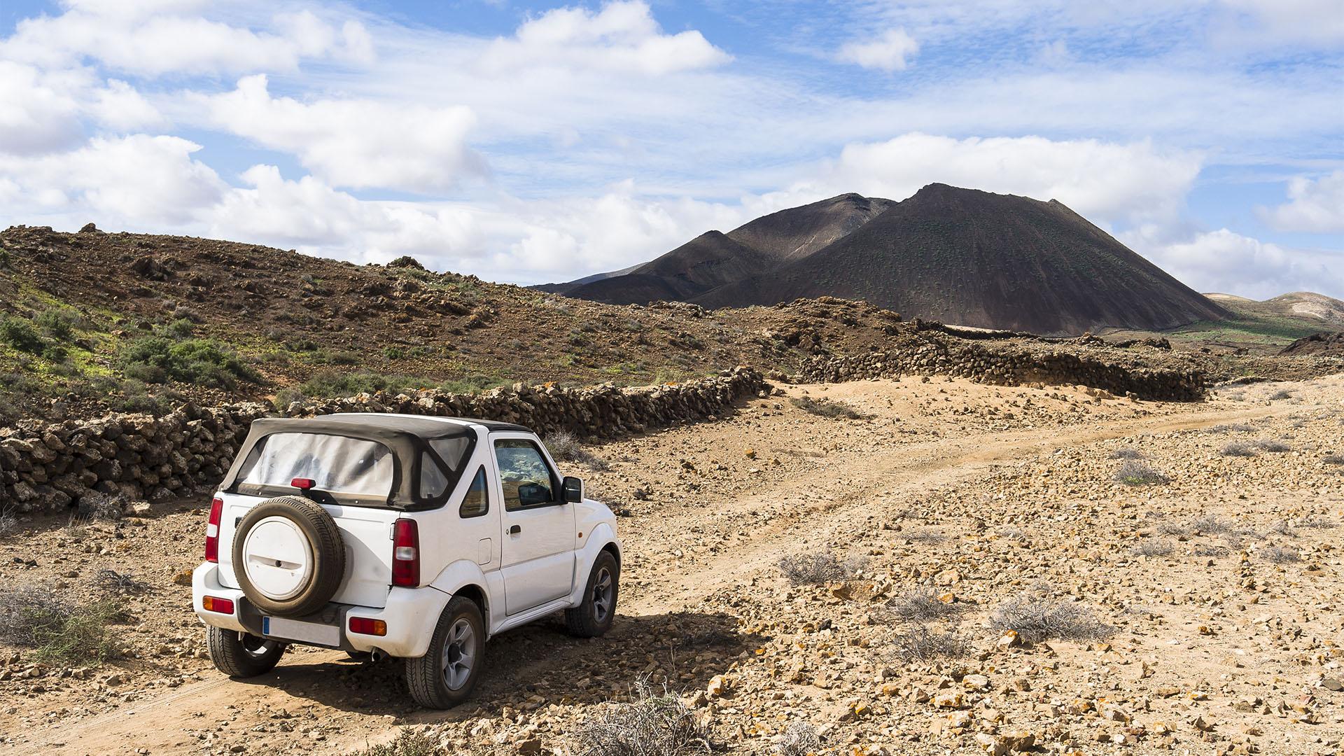 Offroad auf Fuerteventura.