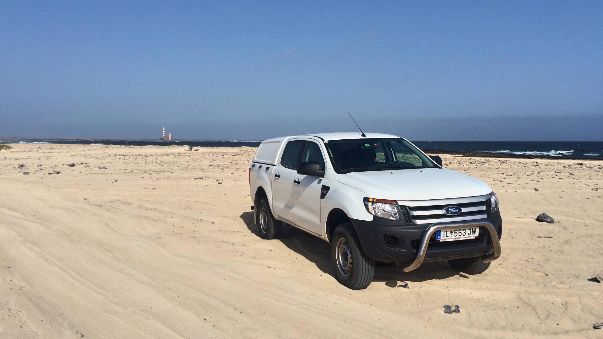 Unterwegs im 4x4 auf Fuerteventura.
