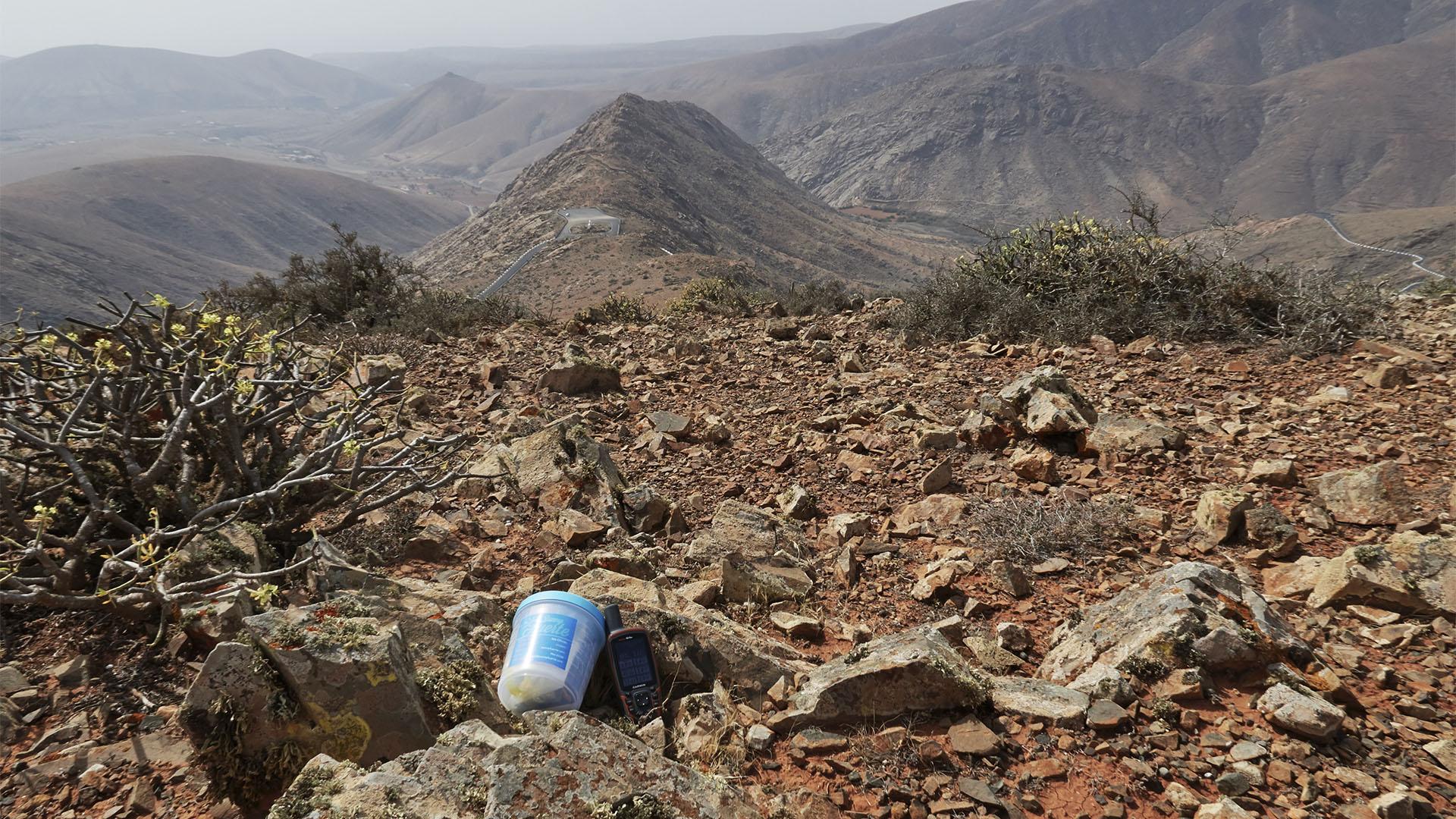 Die Sunnyfuerte Geocaches auf Fuerteventura.