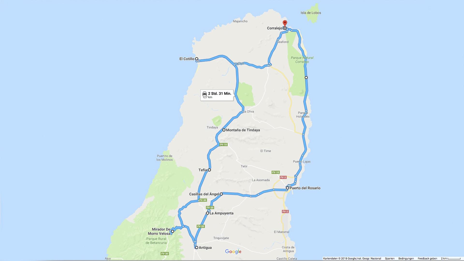 Fuerteventura – die grosse Inselrundfahrt im Norden der Insel.