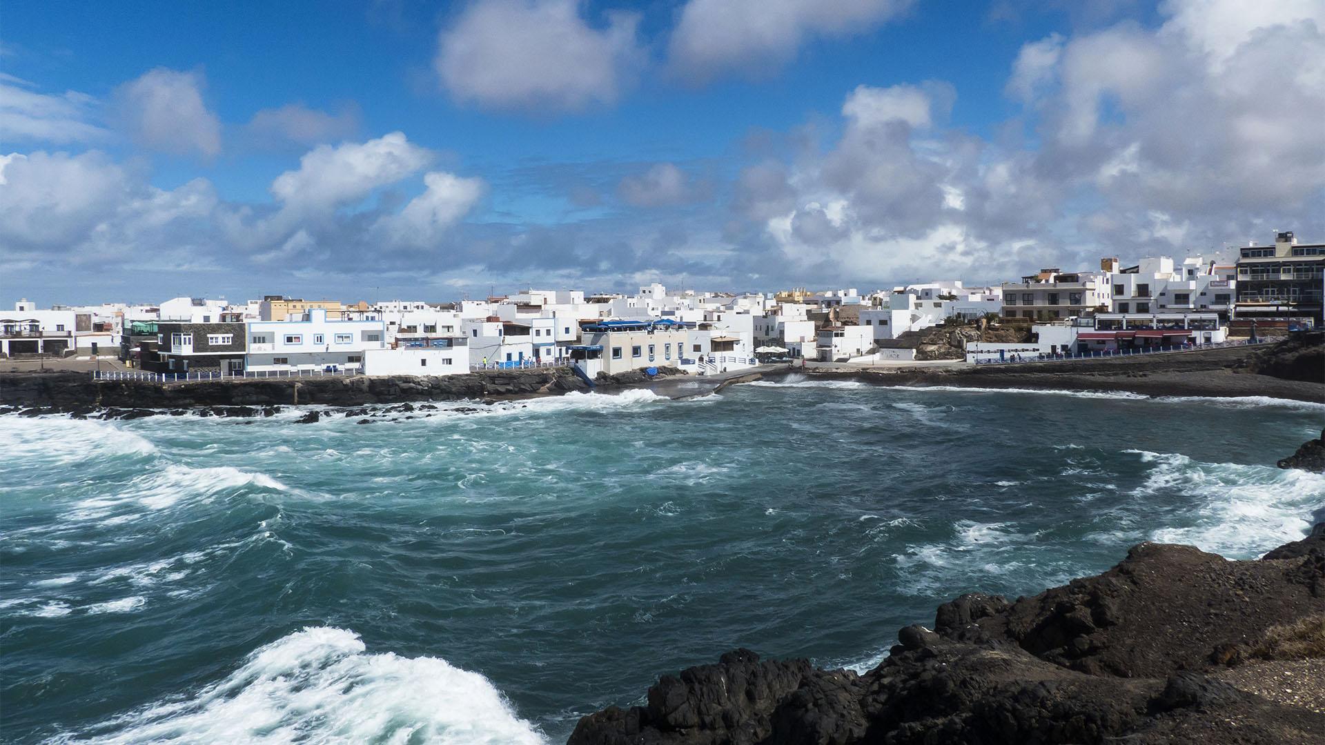 Fuerteventura Inselrundfahrt Norden – Fischer-Mole El Cotillo.