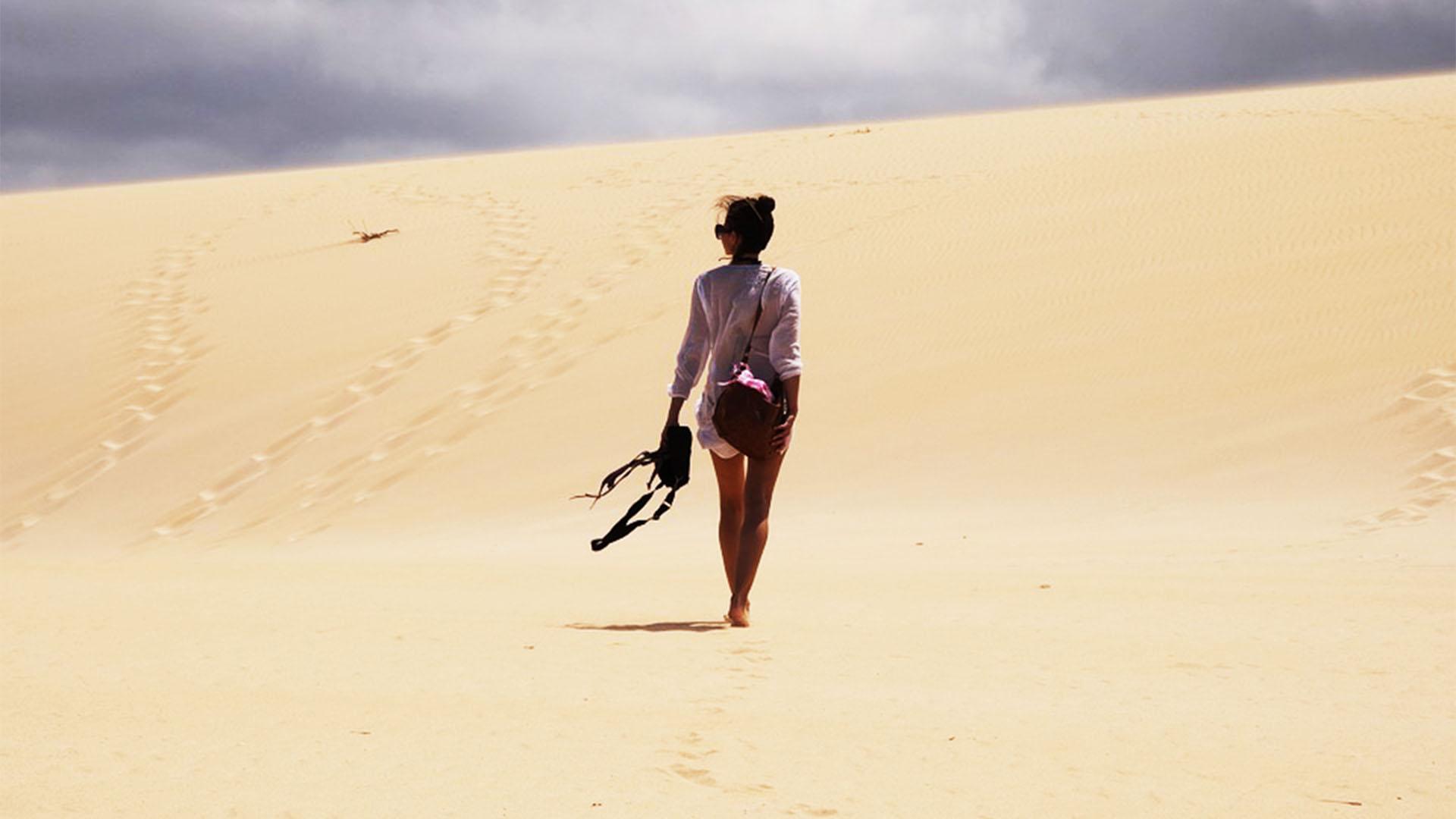 Fuerteventura Inselrundfahrt Norden –Grande Dunas de Corralejo.
