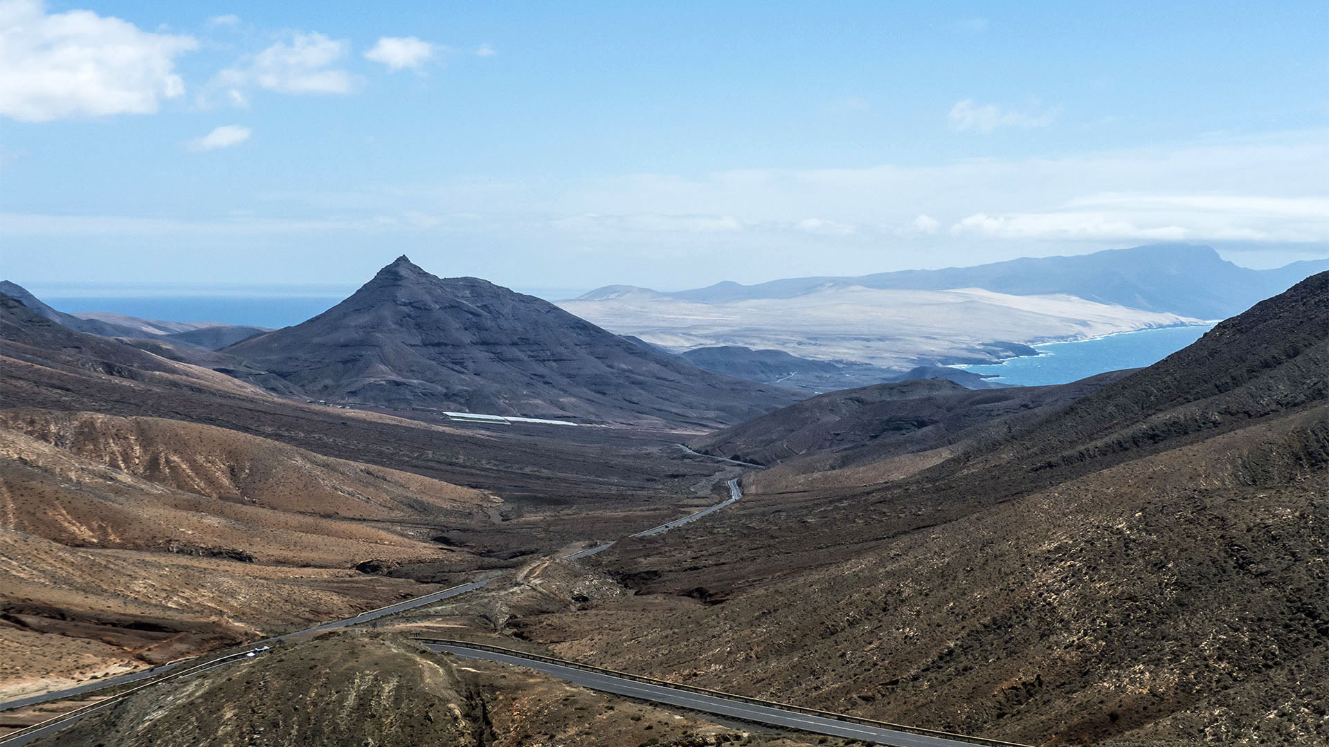 Fuerteventura Inselrundfahrt Südschleife – Istmo de La Pared.