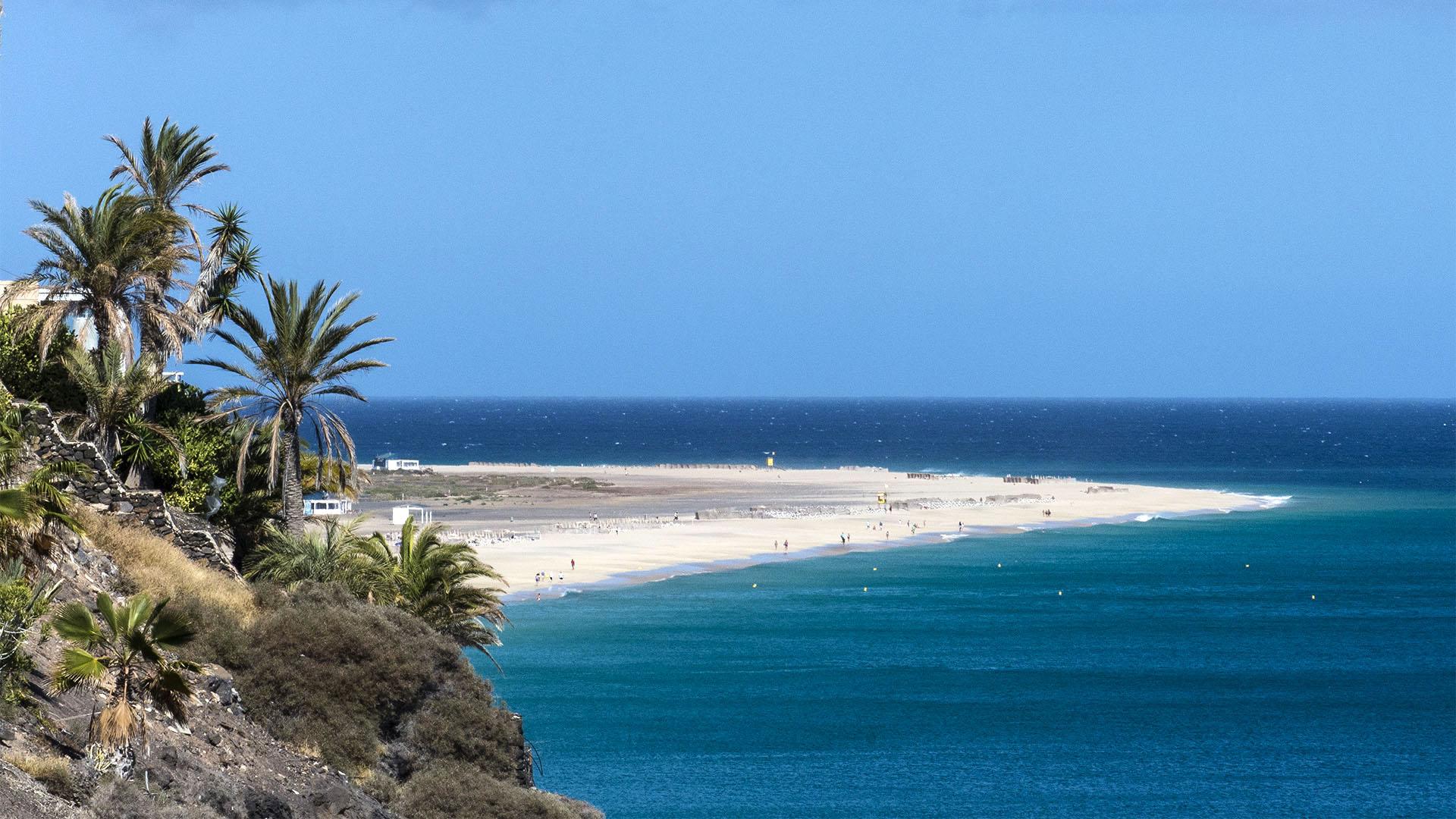Fuerteventura Inselrundfahrt Südschleife – Morro Jable Playa del Matorral.