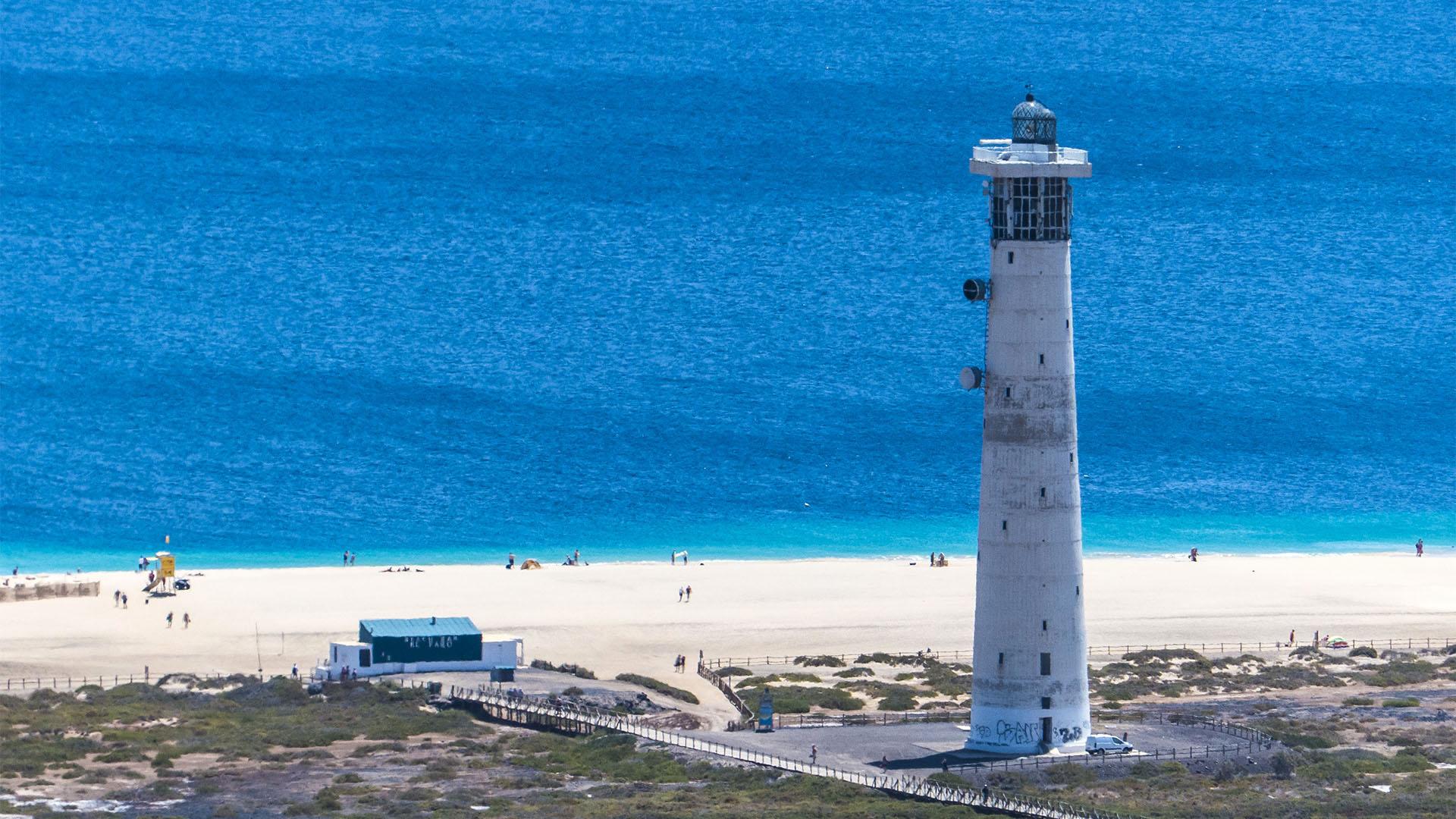 Fuerteventura Inselrundfahrt Südschleife – Faro de Jable und Salzwiesen.