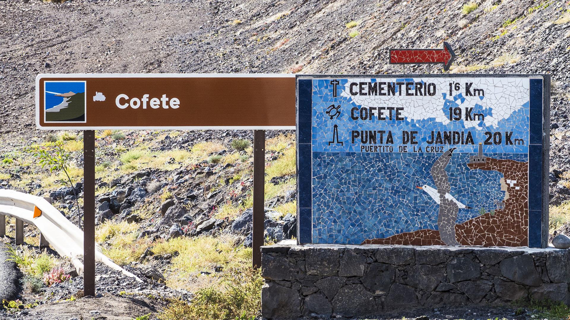 Fuerteventura Inselrundfahrt Südschleife – die Piste nach Cofete.