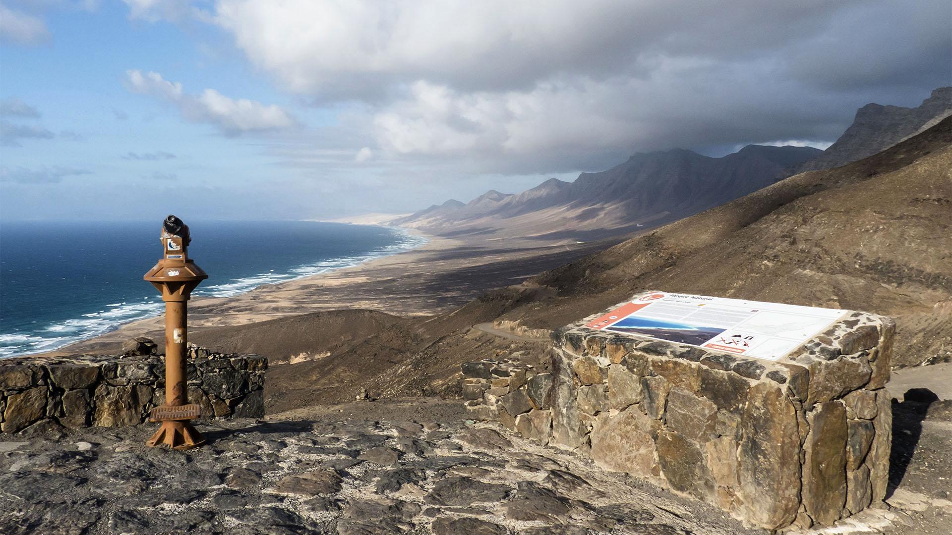Fuerteventura Inselrundfahrt Südschleife – Degollada de Agua Oveja Cofete.