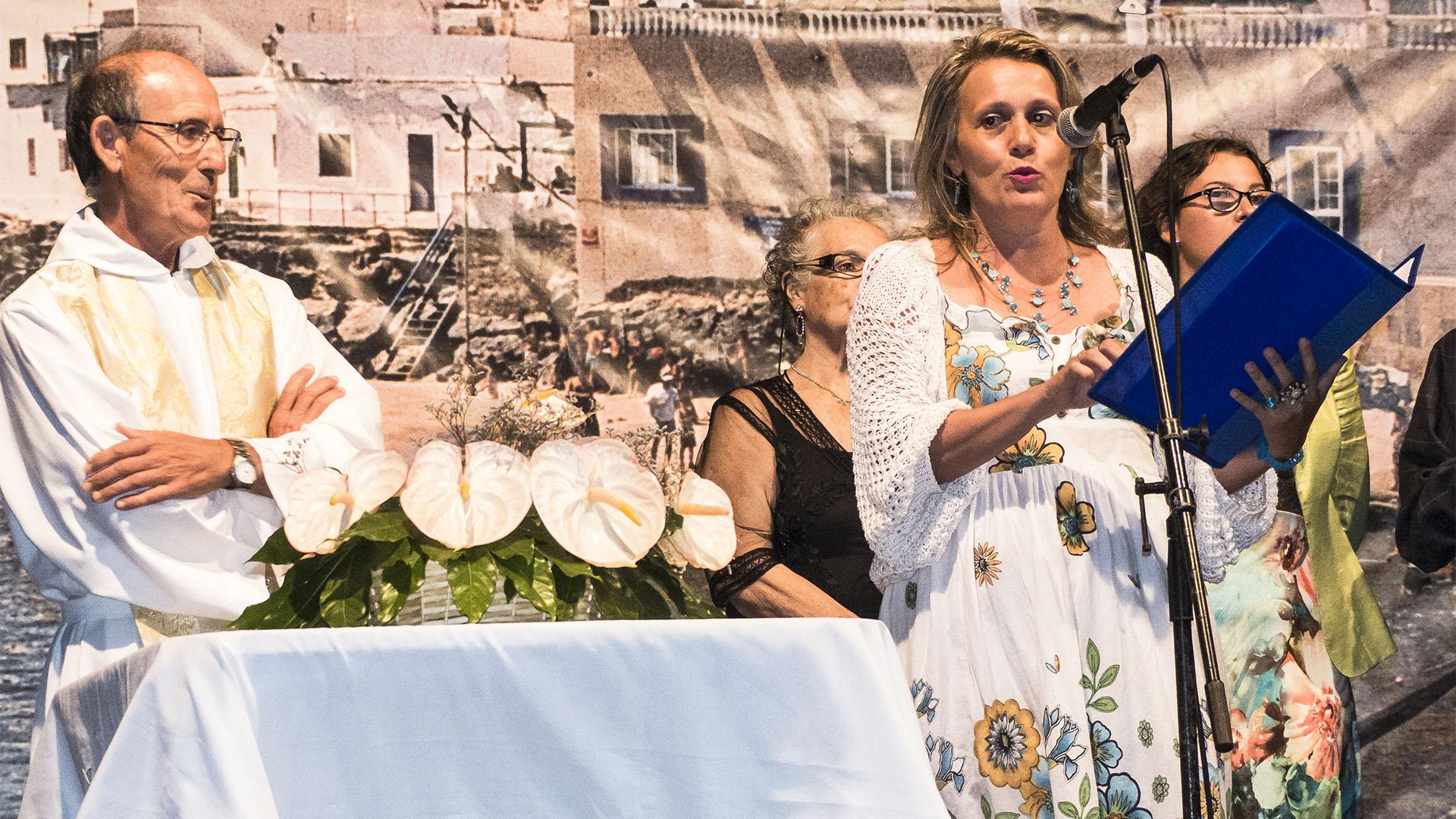 El Cotillo Fiesta Virgen del Buen Viaje El Cotillo Fuerteventura –Nachtprozession.