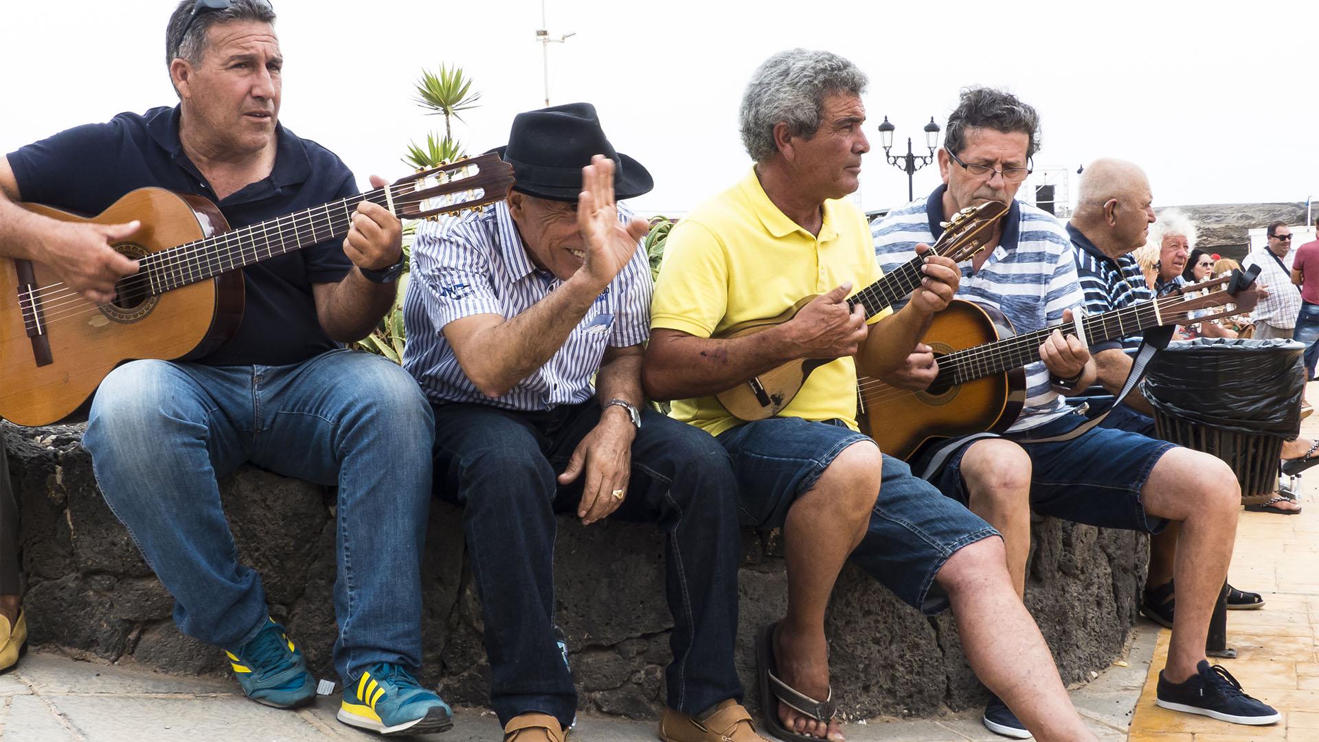 Fiestas + Wallfahrten auf Fuerteventura: Virgen del Buen Viaje El Cotillo.
