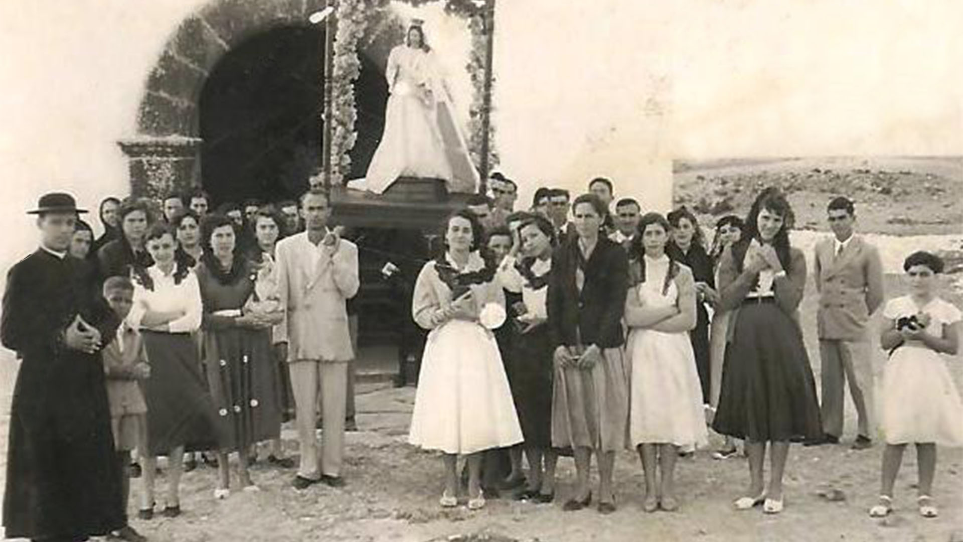 El Cotillo Fuerteventura Iglesia Virgen del buen Viaje, ohne Jahr.