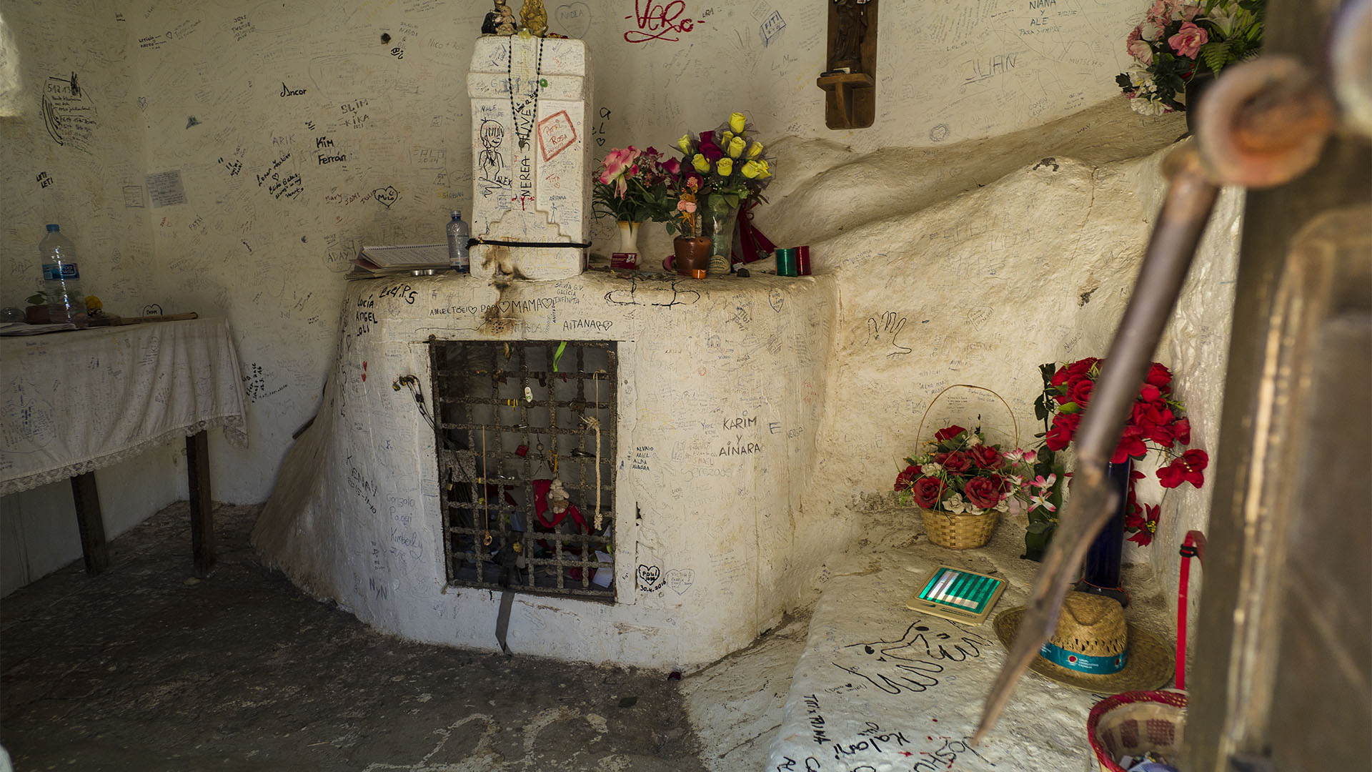 Fiestas + Wallfahrten auf Fuerteventura: Virgen de la Peña Antigua.
