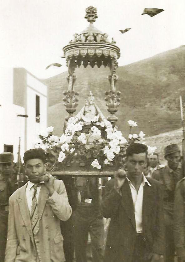 Romería Virgen de la Peña Fuerteventura 1957.