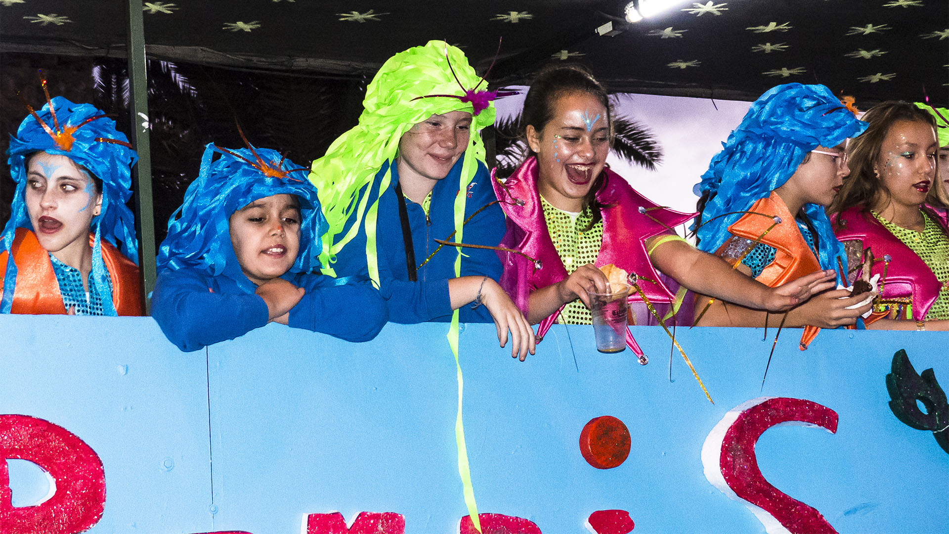 Karneval auf Fuerteventura: Puerto del Rosario.