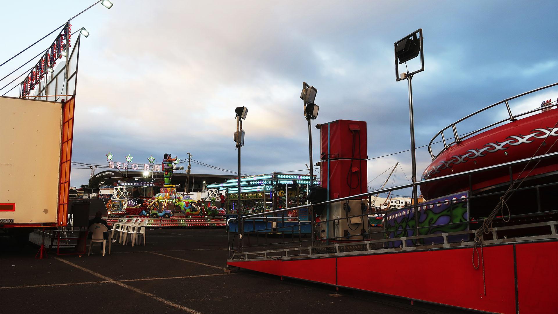 Karneval in Puerto del Rosario Fuerteventura – der Festplatz –Gran Verbena.
