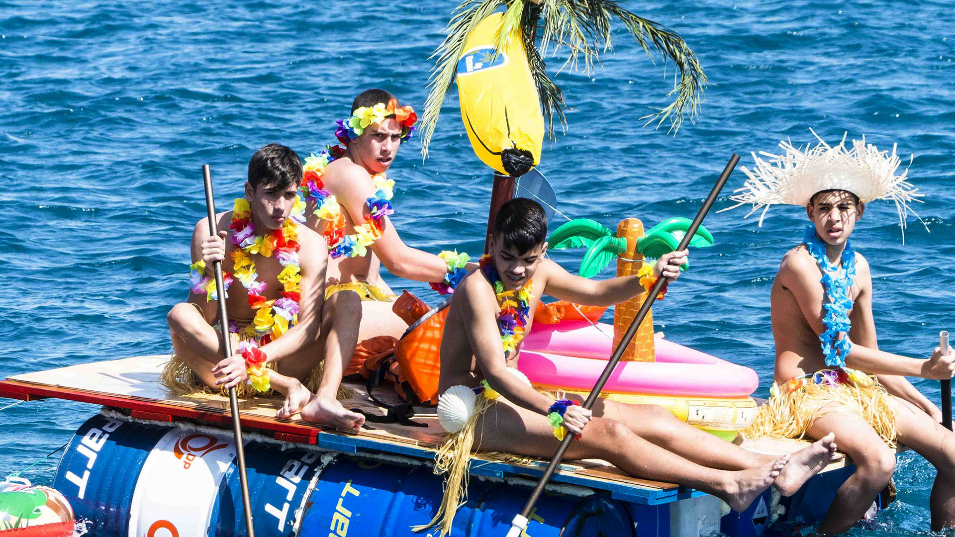 Karneval auf Fuerteventura: Puerto del Rosario Regata de Achipenco.