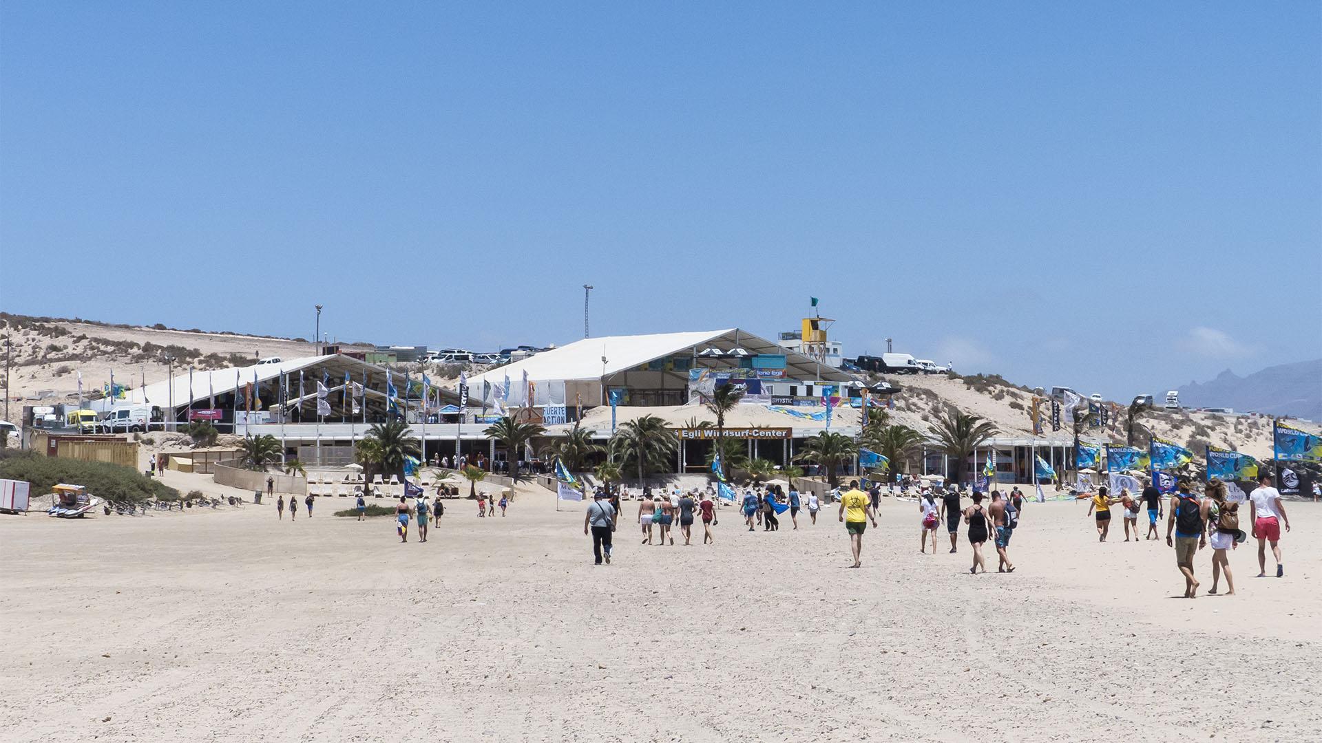 Sportveranstaltungen auf Fuerteventura: Kite + Windsurf WM Sotavento.