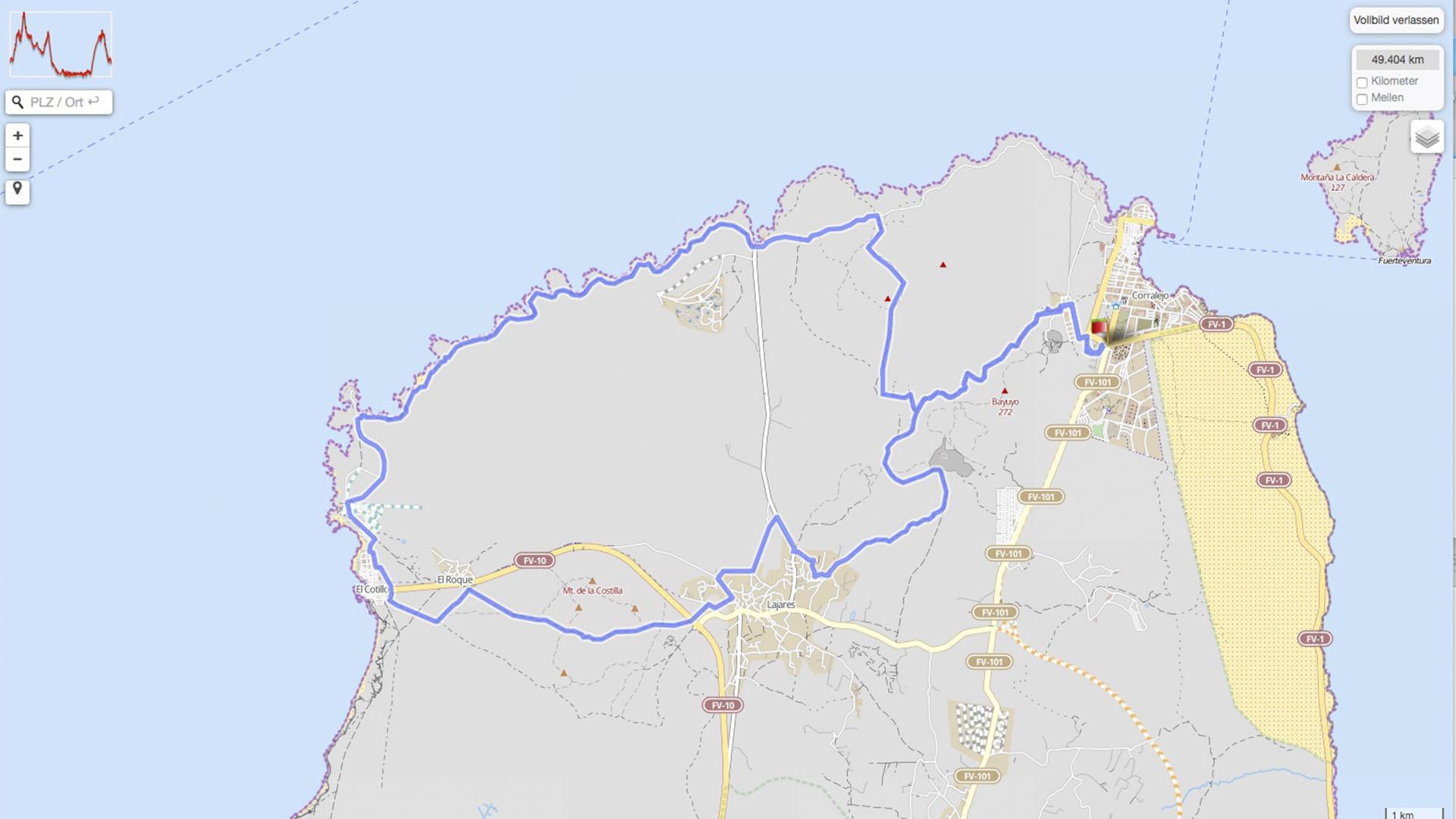 Fuertebike Mountainbike Rennen im Norden von Fuerteventura.
