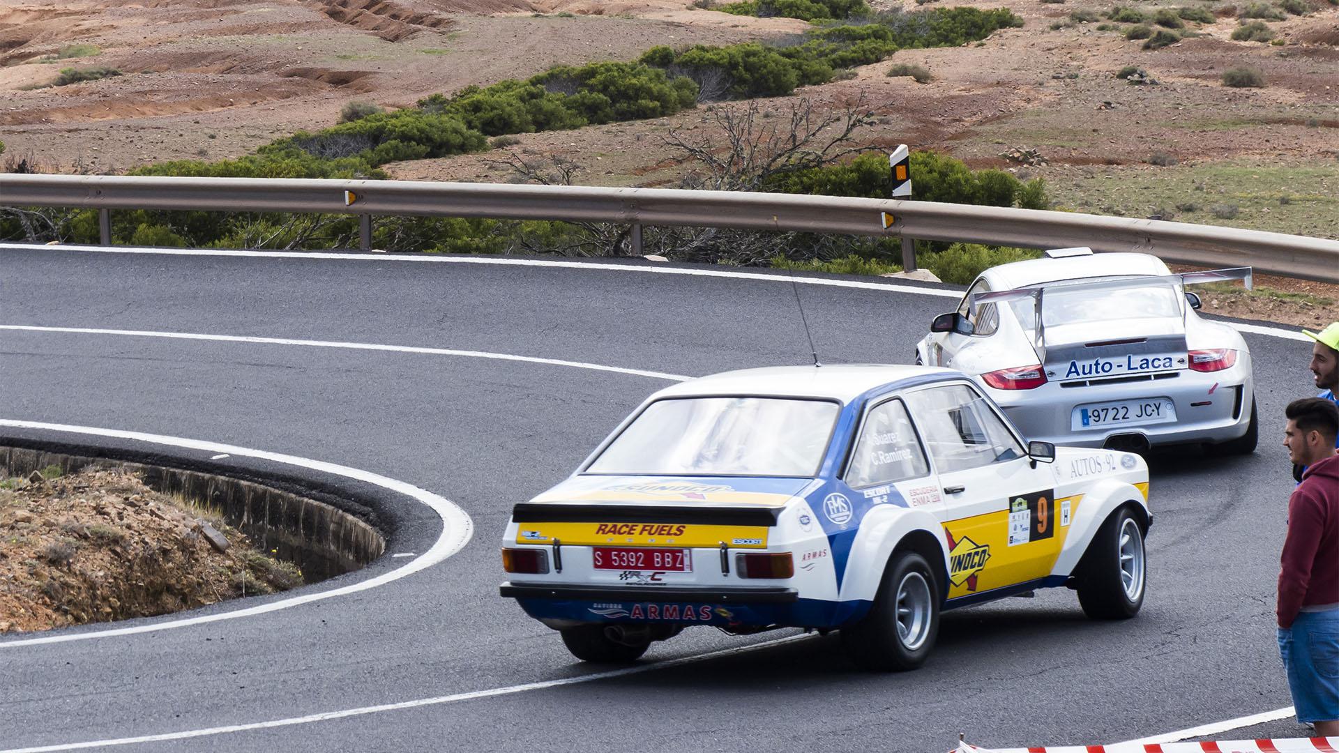 Sportveranstaltungen auf Fuerteventura: Betancuria Mountain Climb Ralley.