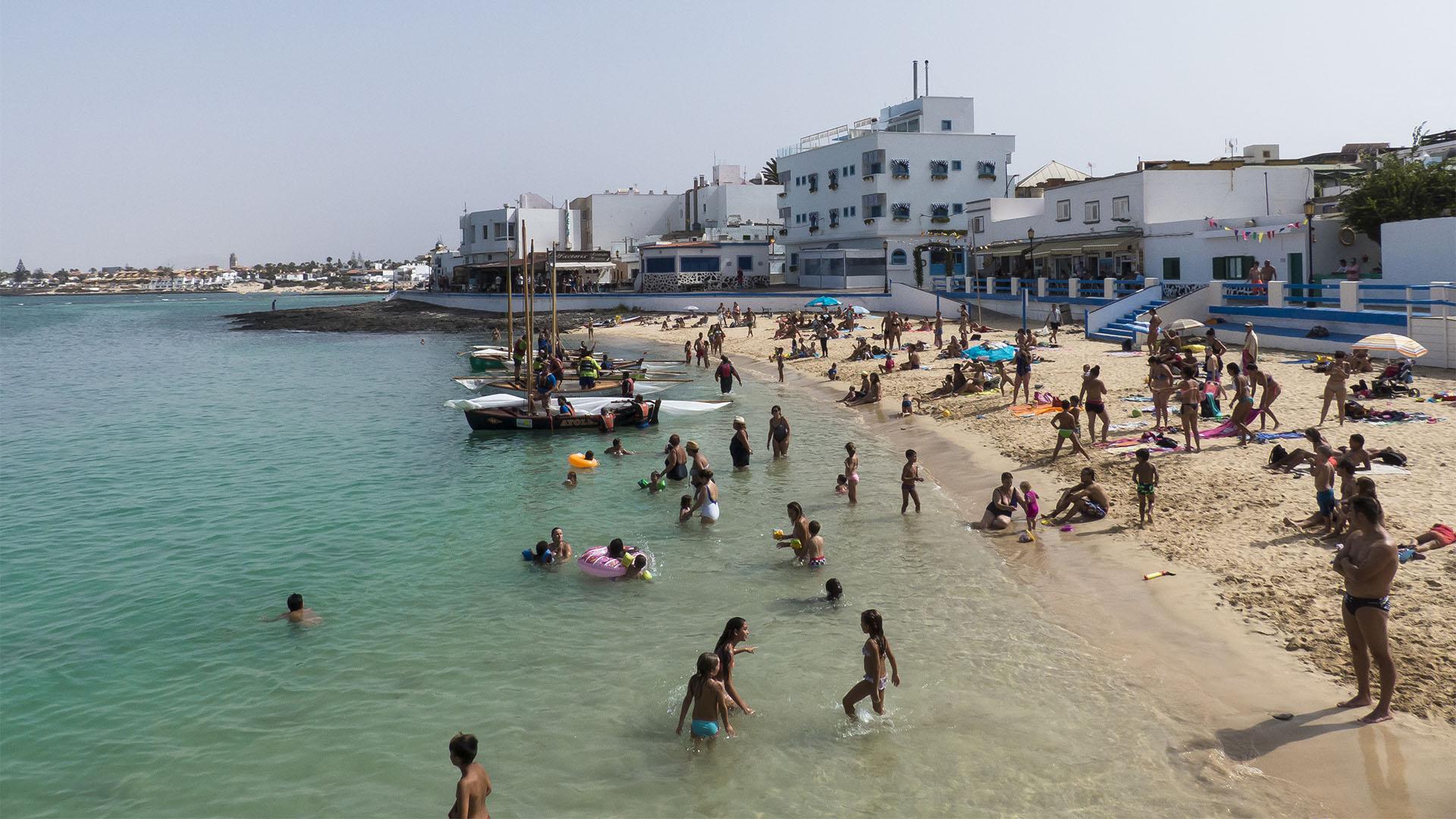 Sportveranstaltungen auf Fuerteventura: Corralejo Regata de Vela Latina.