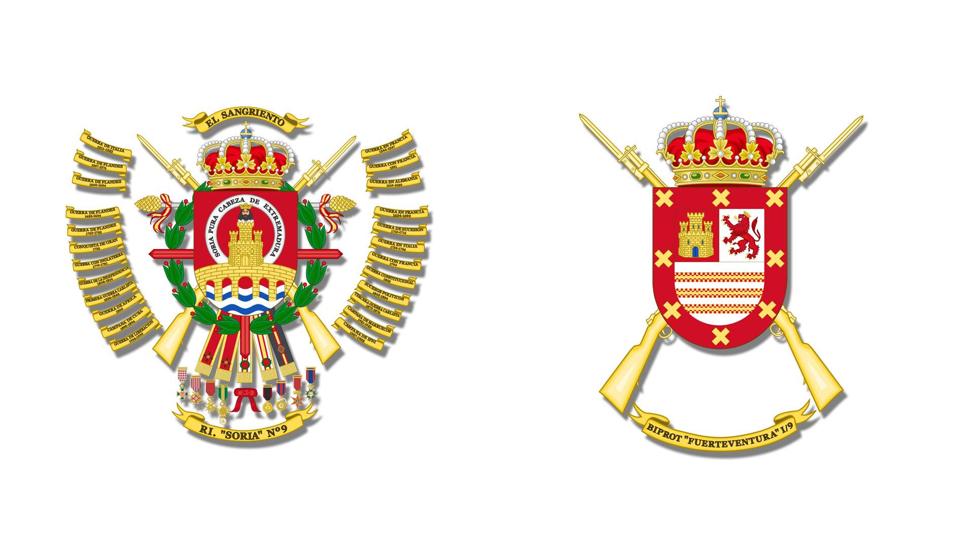 Infanterieregiment Soria 9 auf Fuerteventura.