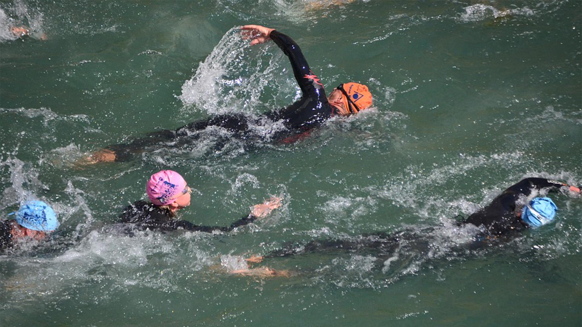 Fuerteventura Events Sportveranstaltungen: Traversia internacional la bocaina – von Lanzarote nach Fuerteventura schwimmen.