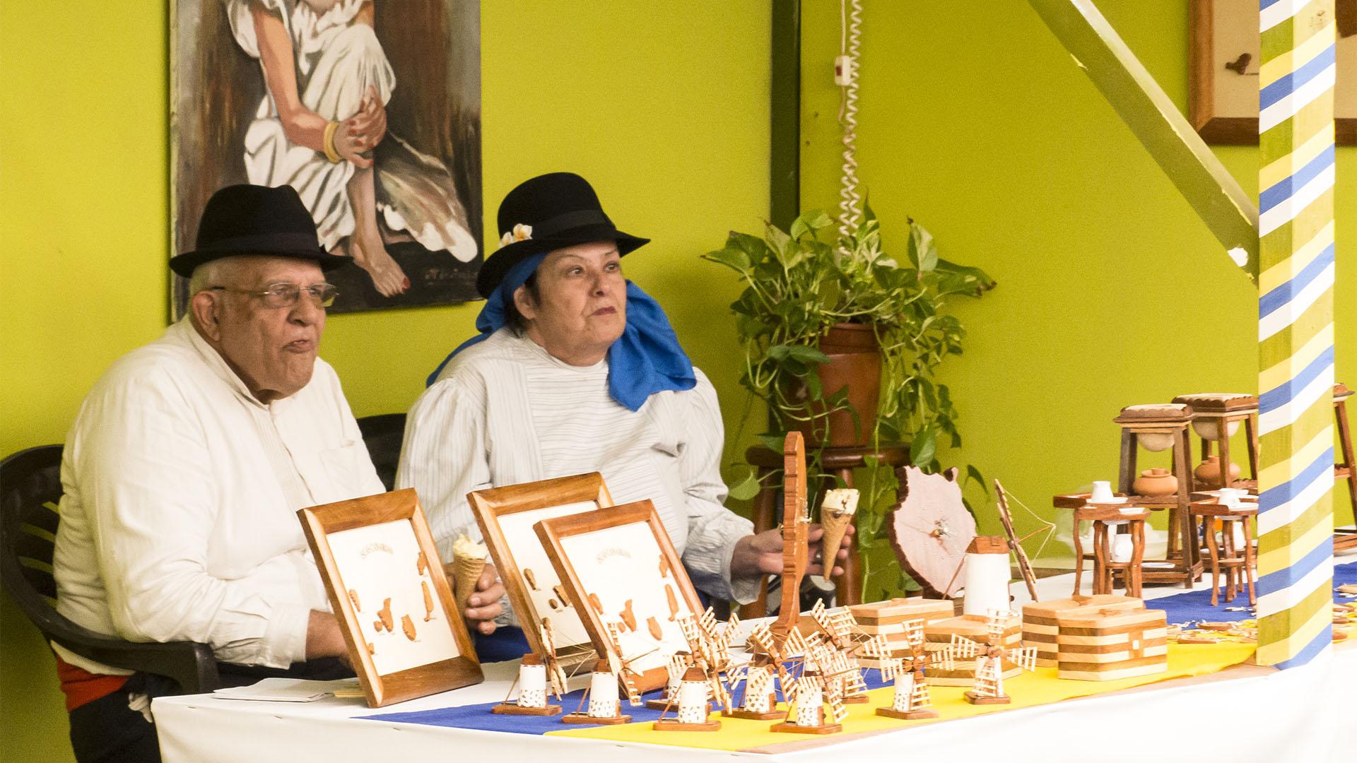 Veranstaltungen Messen auf Fuerteventura: Feria Insular de Artesanía Kunsthandwerksmesse Antigua.