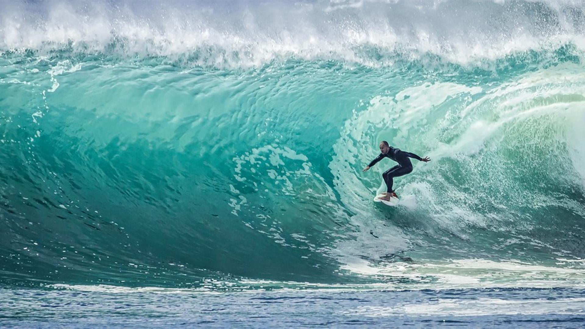 Wellenreiten auf Fuerteventura – das Hawaii Europas.