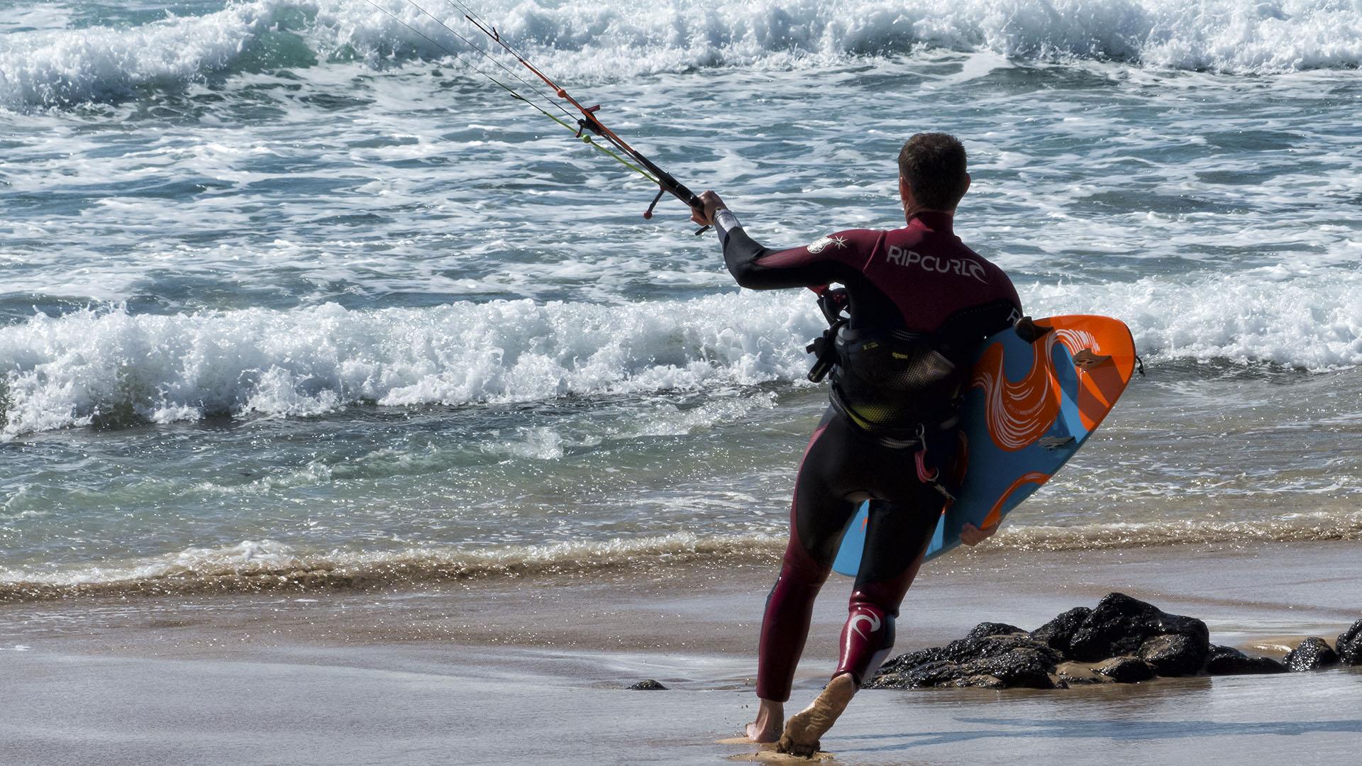 Kitesurfen auf Fuerteventura – das Hawaii Europas.