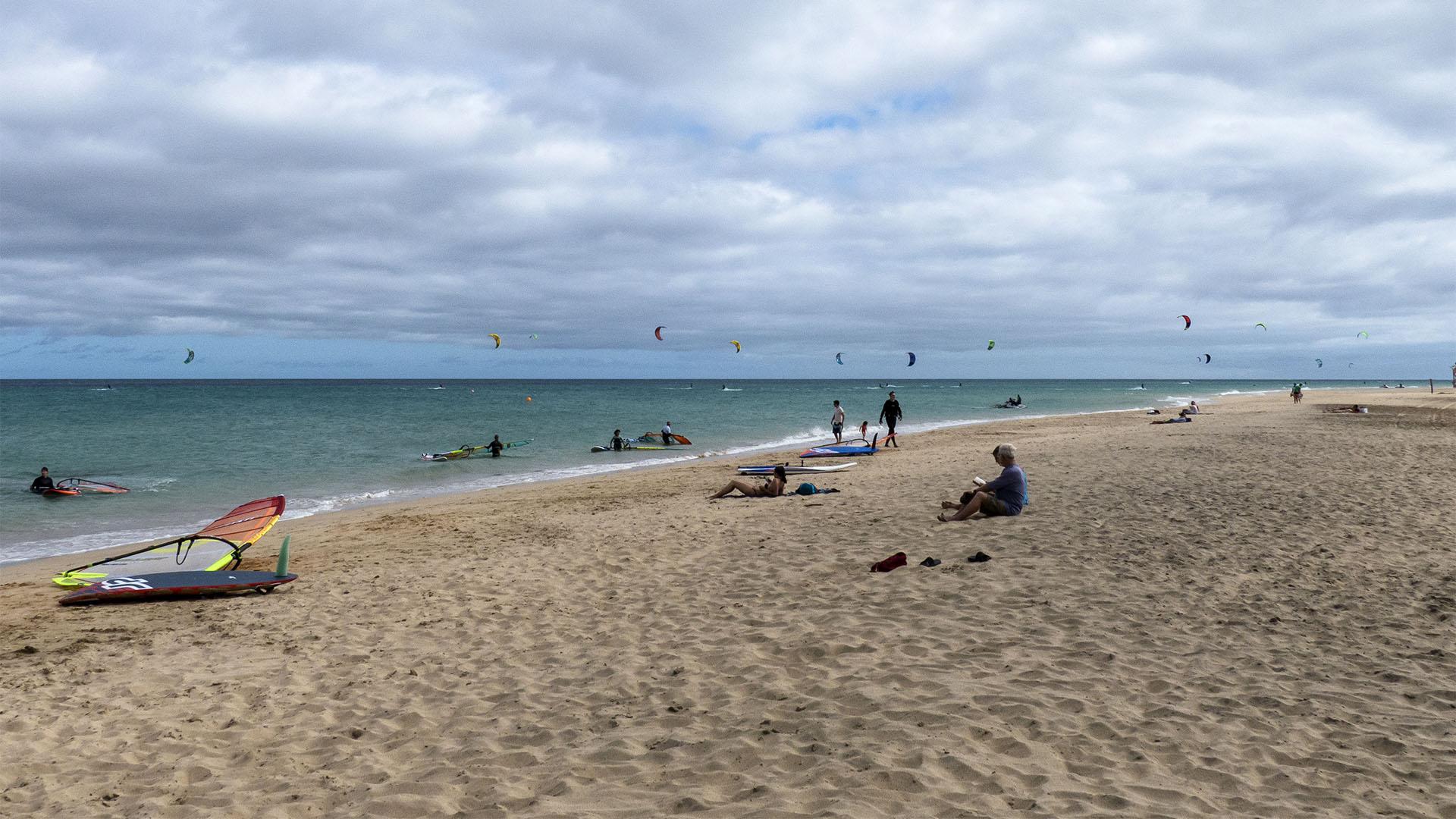 Windsurfen auf Fuerteventura – das Hawaii Europas.