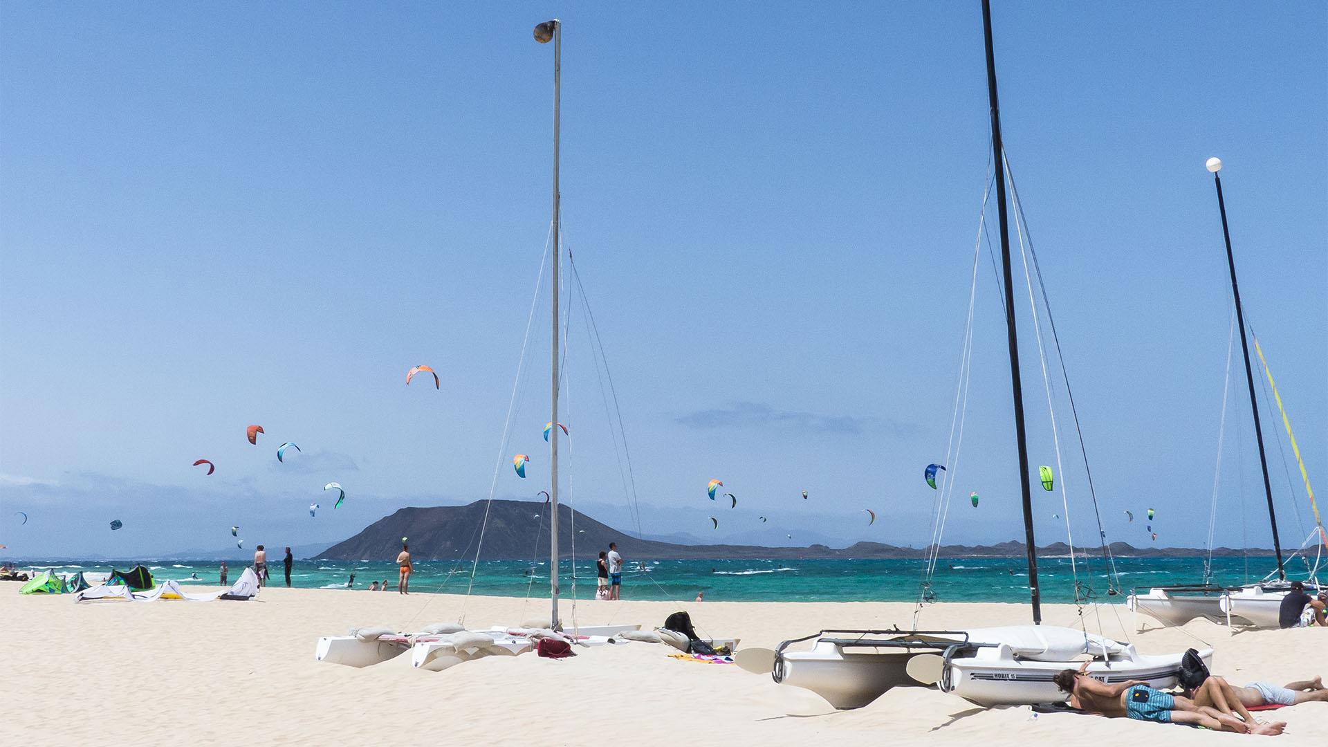 Segeln auf Fuerteventura.
