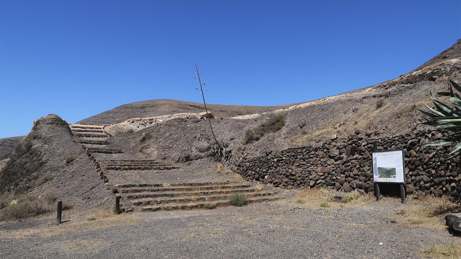 Wandern Fuentes de El Chupadero Fuerteventura.