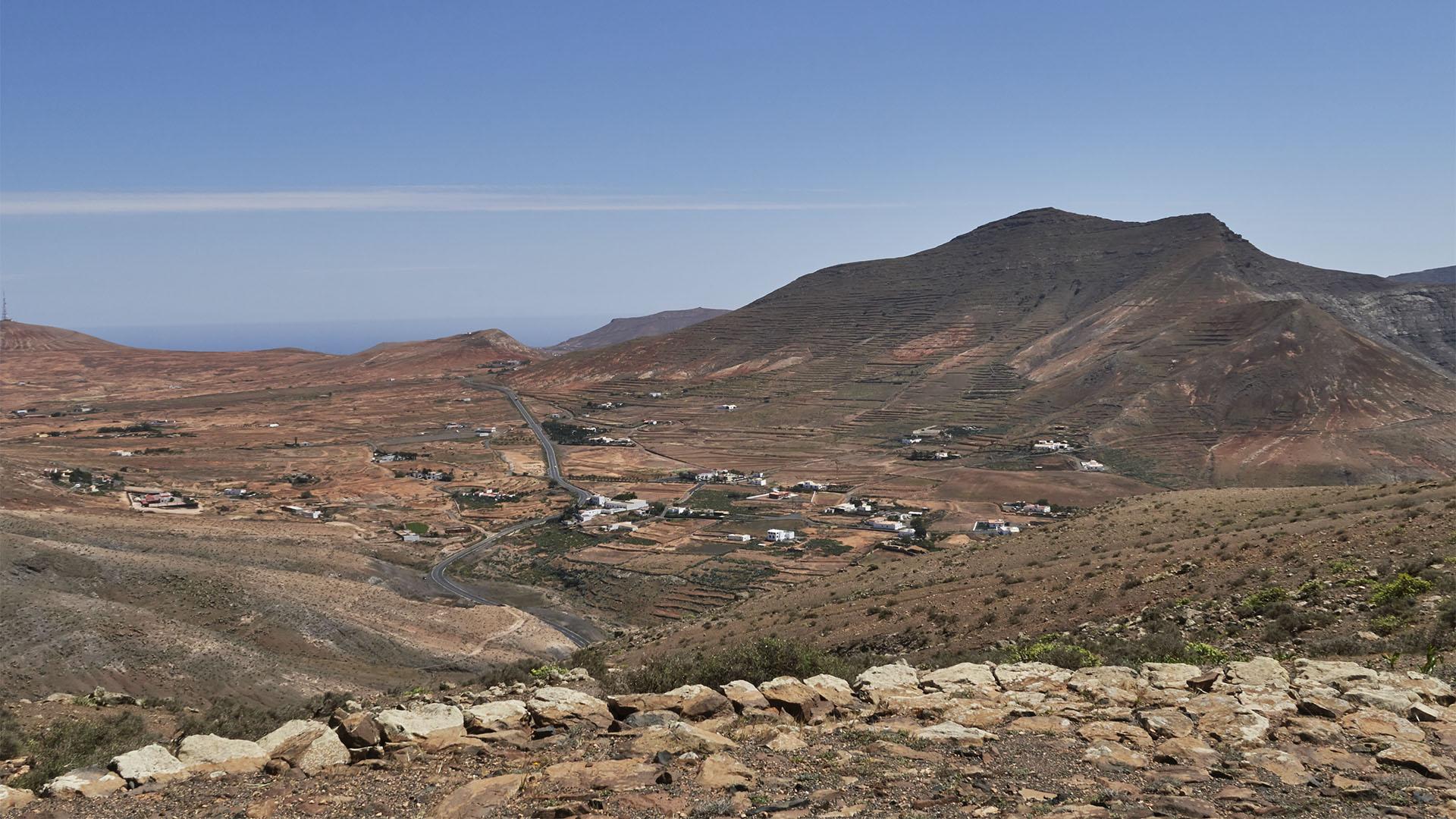 Blick vom Aussichtspunkt 1 auf La Matilla.