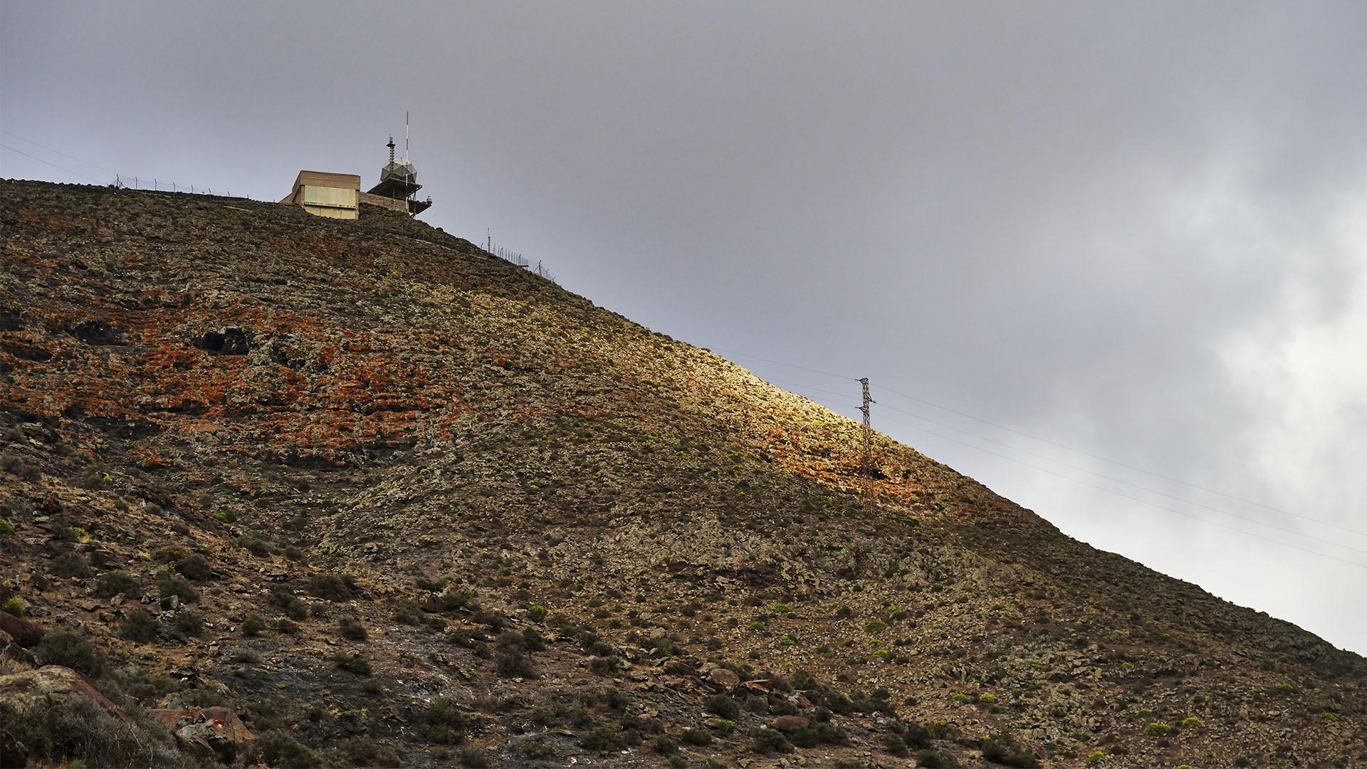 Weglos hinauf zum Montaña de la Muda (689 m).