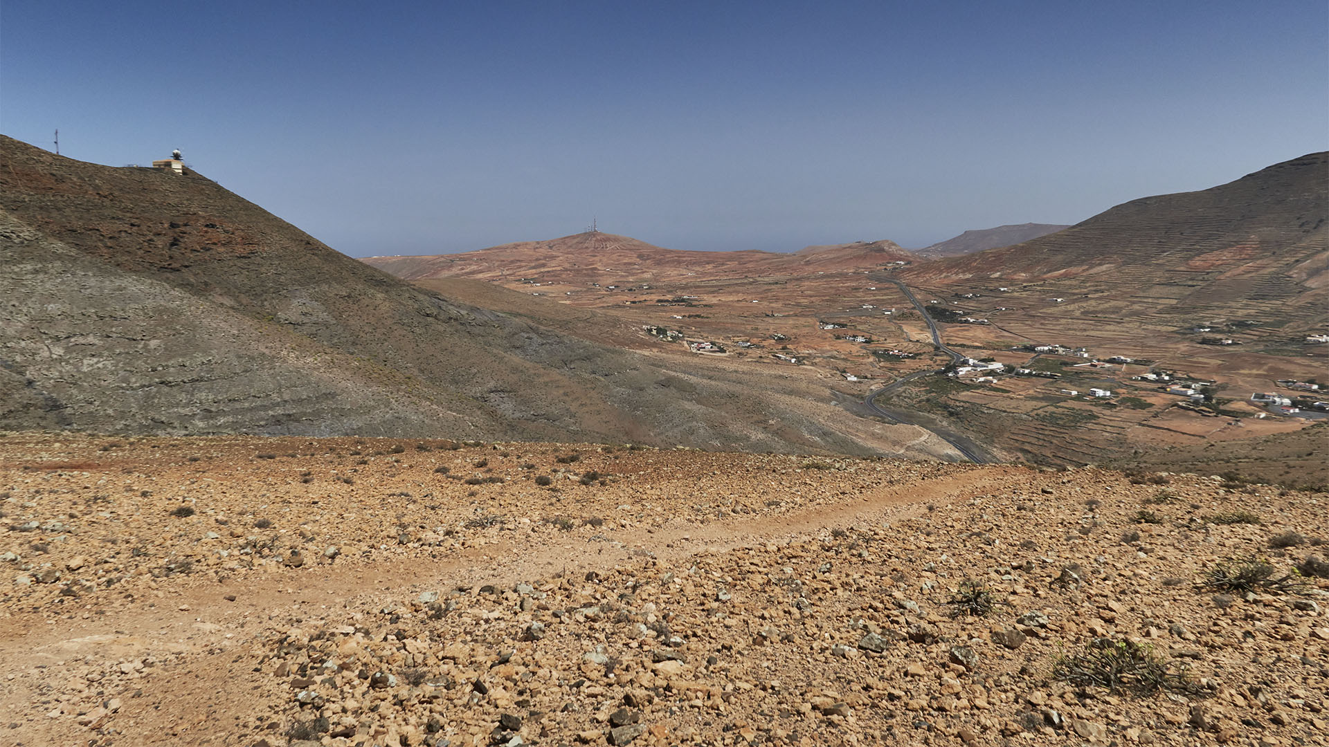 Der Wanderweg zu den Fuentes de El Chupadero.