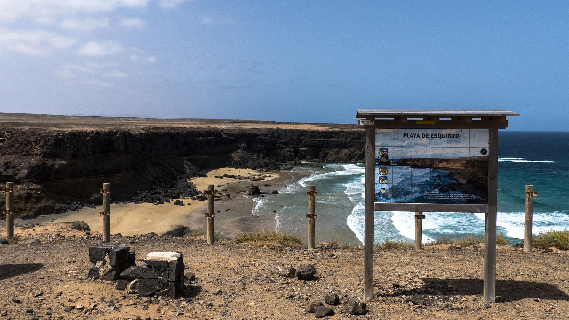 Wandern + Trekking auf Fuerteventura: Von El Cotillo zum Playa Esquinzo.