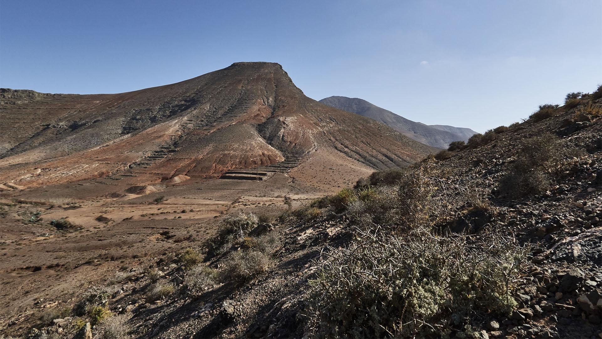 Wanderung zu der Quelle Fuente de Tababaire Fuerteventura.