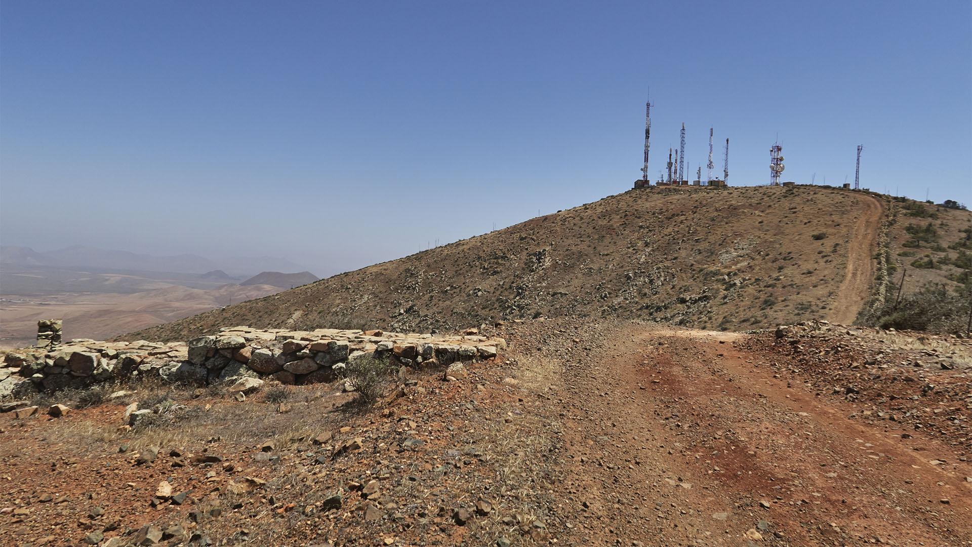Alter Aussichtspunkt und Sender des Morro Janana.