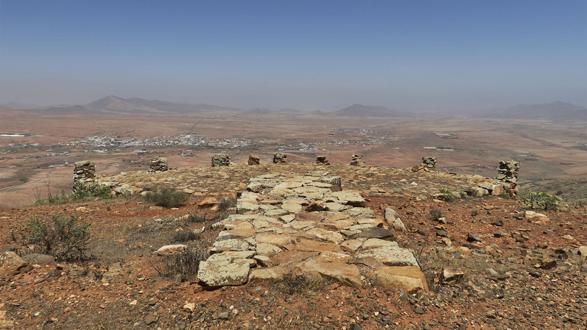 Alter Aussichtspunkt unterhalb des Morro Janana.