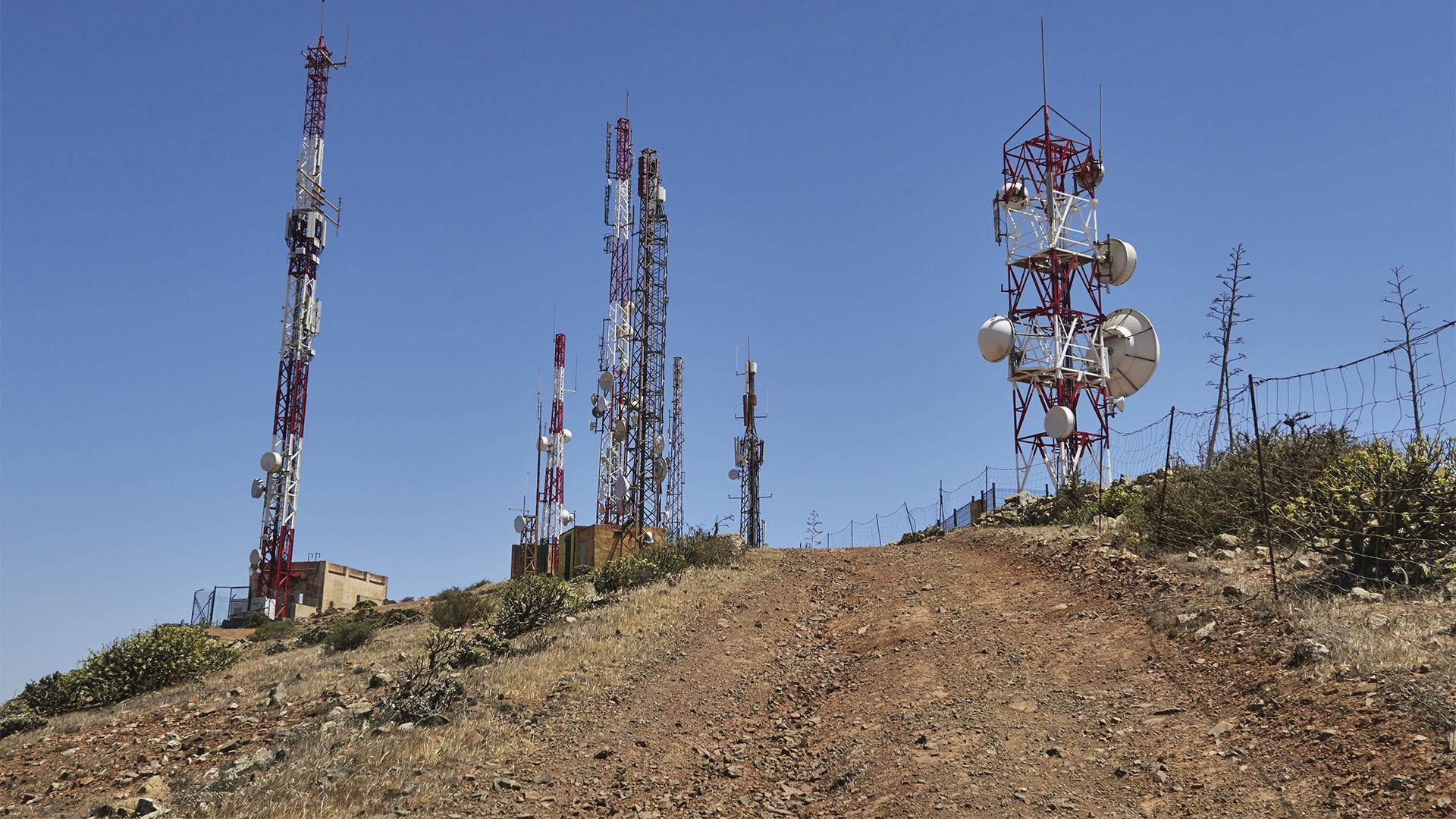 Der Sender am, Morro Janana.