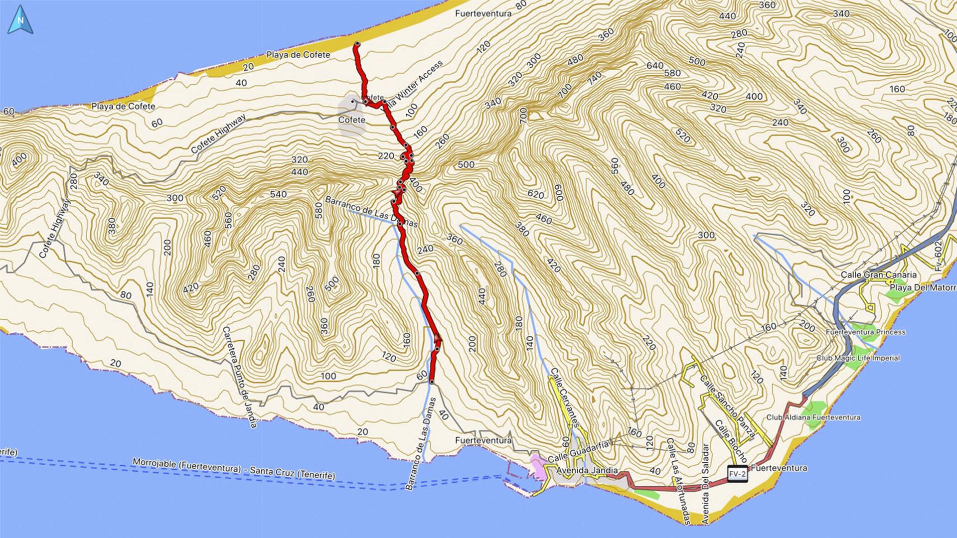 Wandern + Trekking auf Fuerteventura: Durch das Gran Valle nach Cofete.
