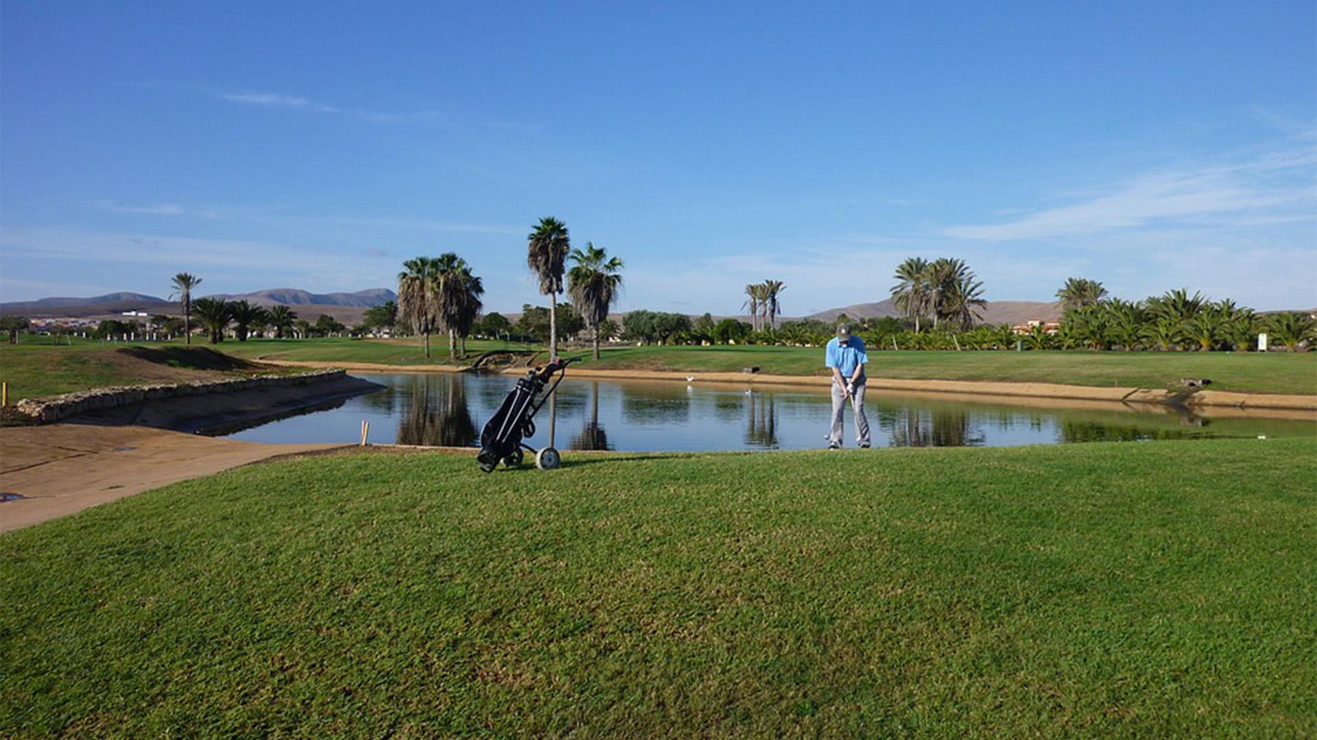 Golfen auf Fuerteventura – Fuerteventura Golf Club.