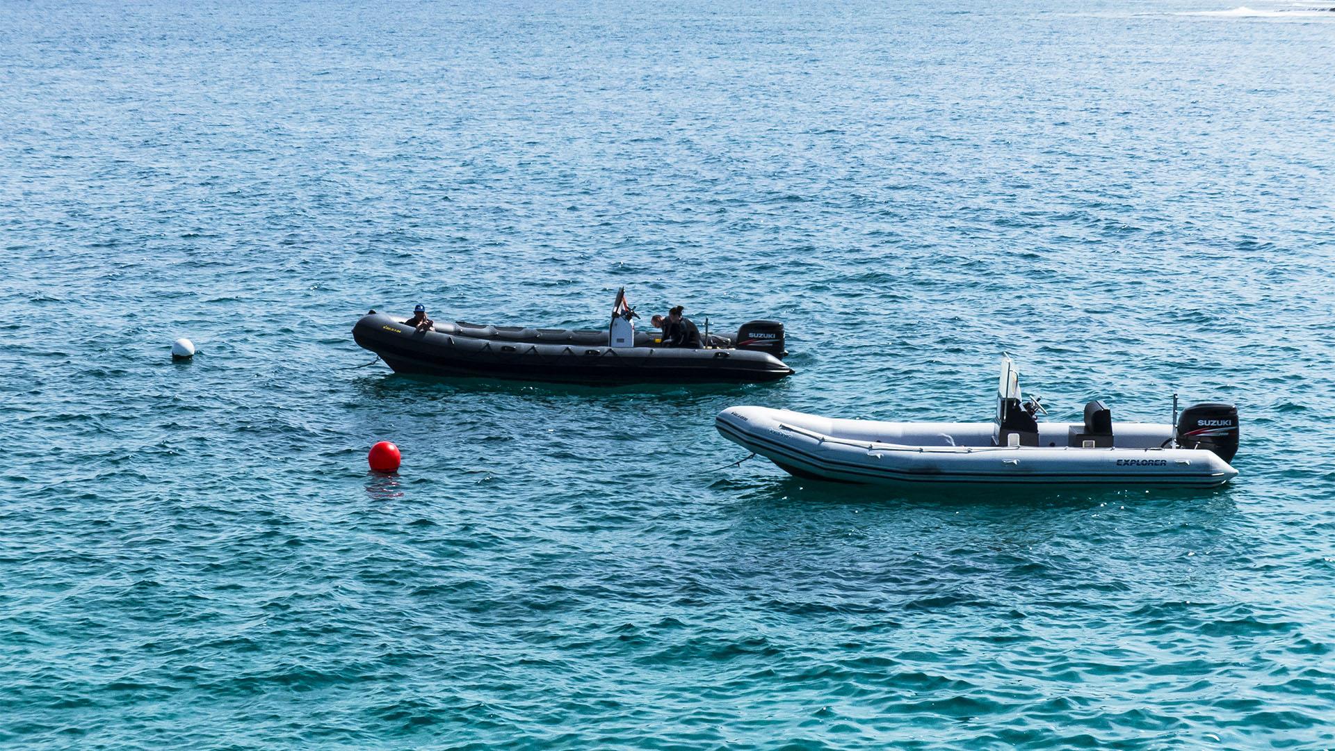 Geräte Tauchen auf Fuerteventura.