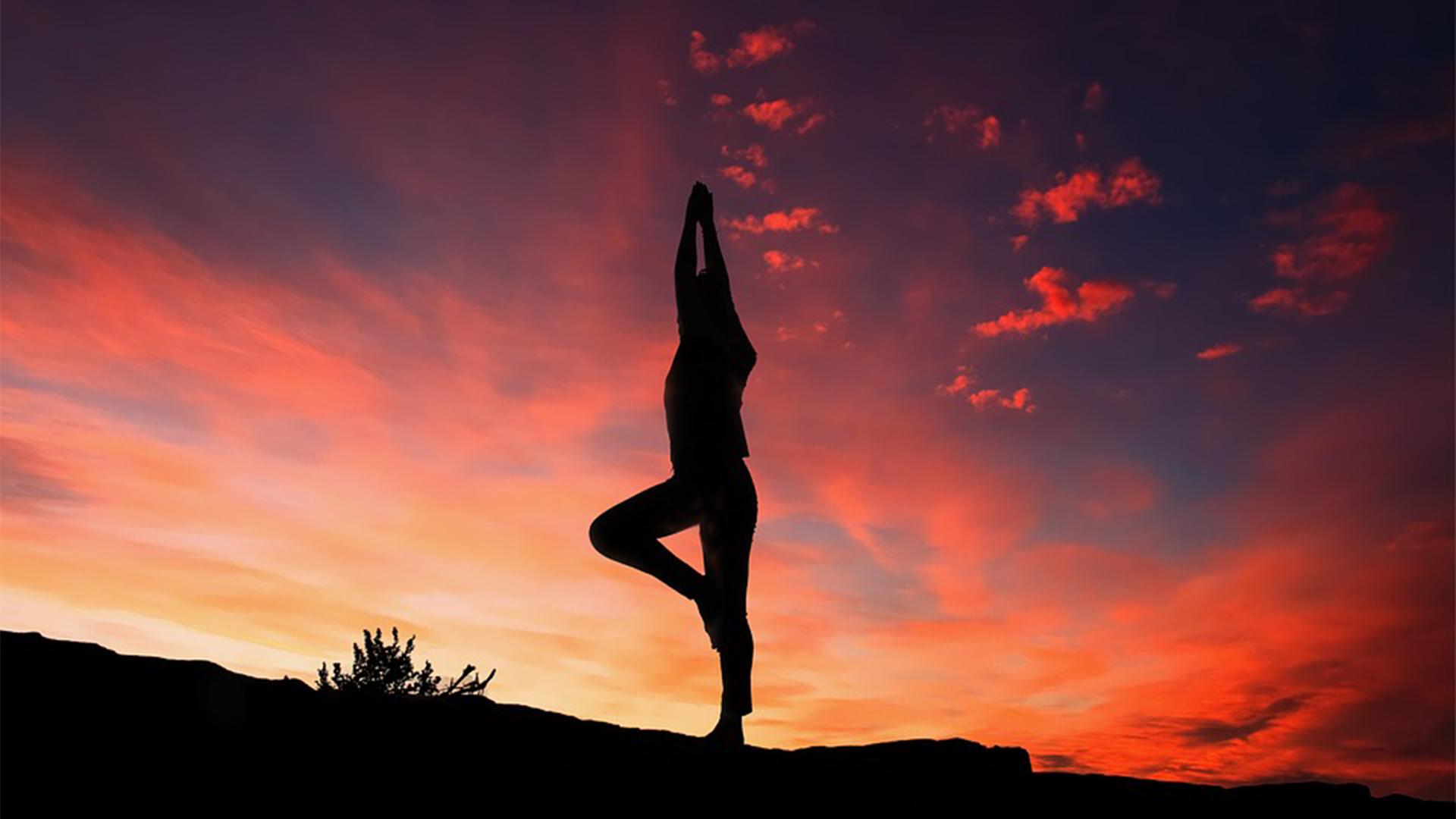 Yoga auf Fuerteventura.