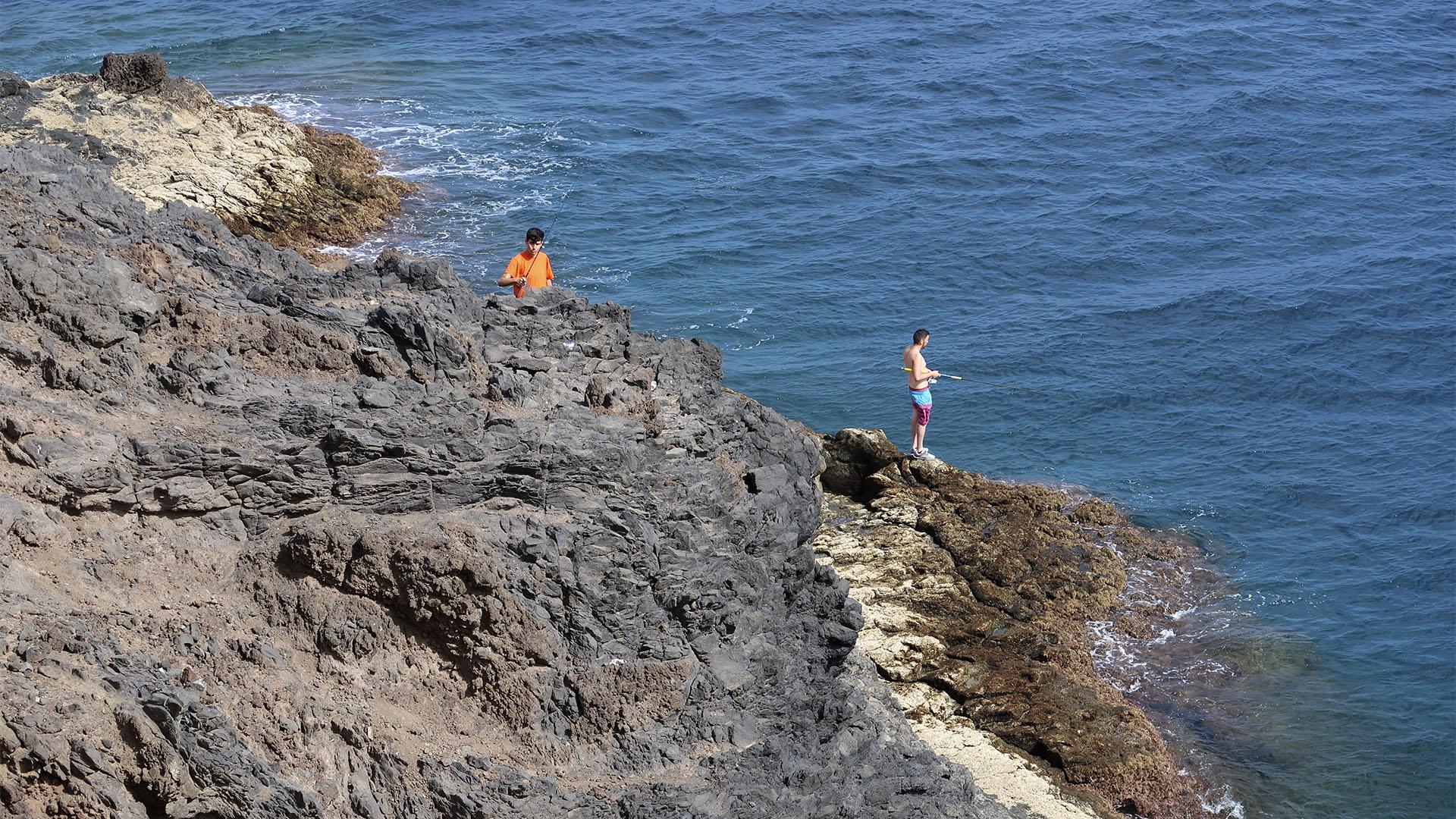 Angeln und fischen auf Fuerteventura.