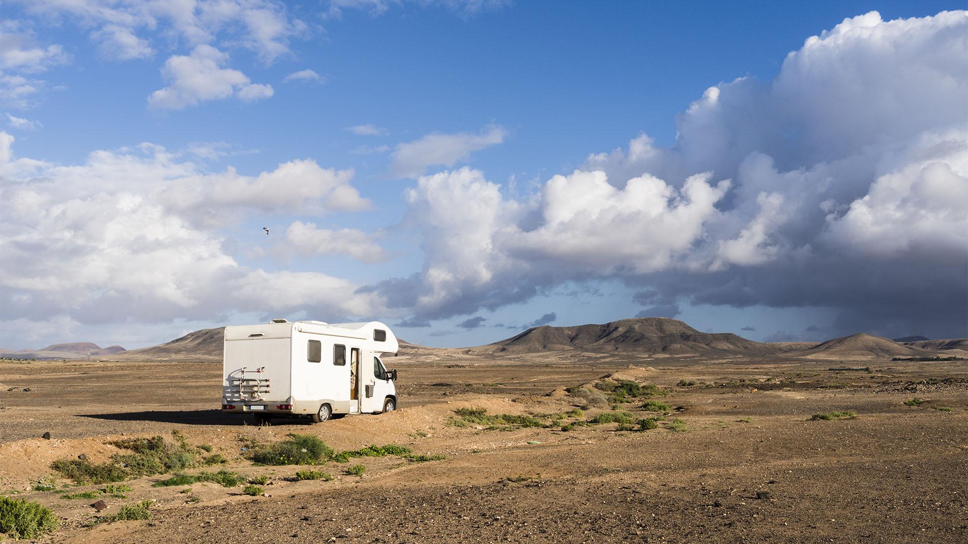 Campen auf Fuerteventura –was ist erlaubt, wo ist es erlaubt.