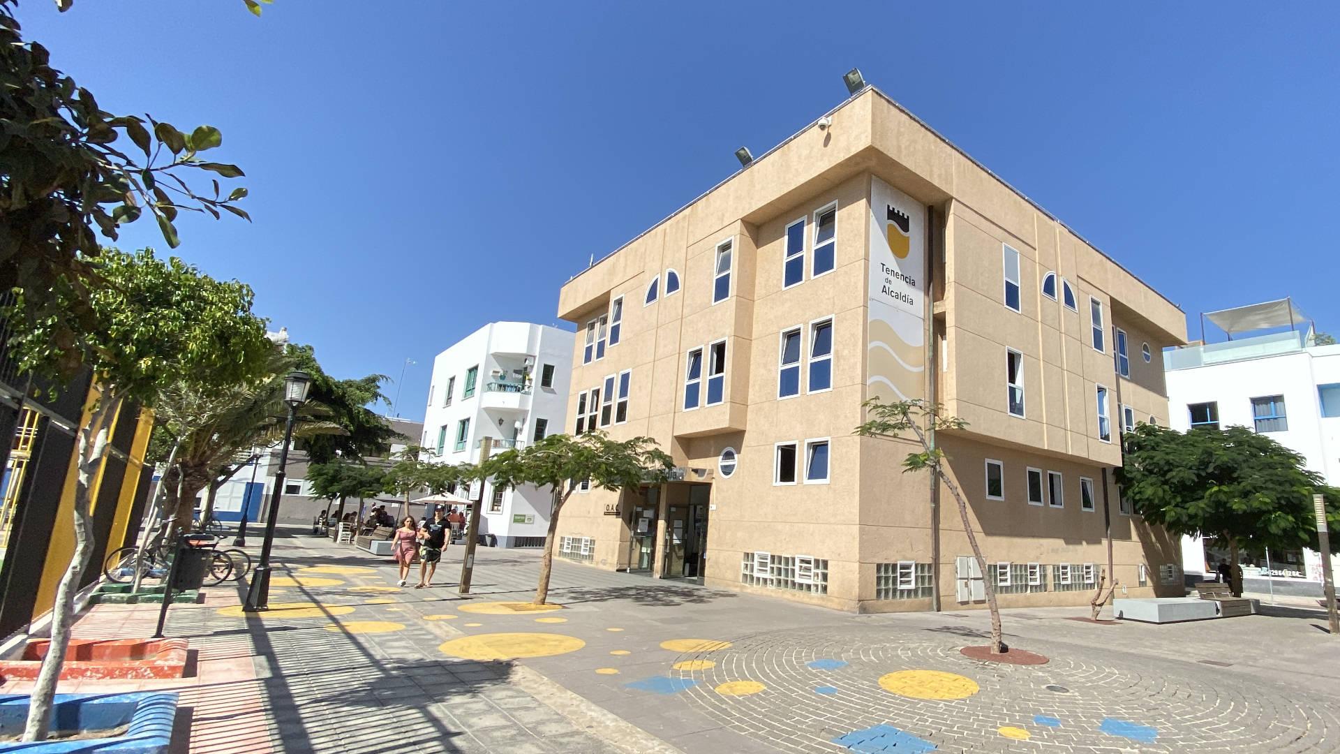 Ayuntamiento La Oliva Fuerteventura.