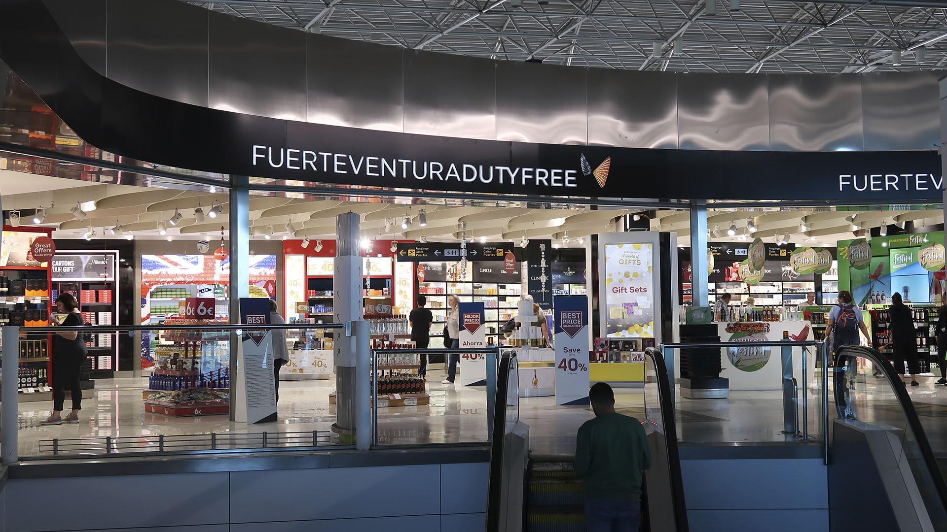 Der Airport von Fuerteventura in El Matorral.