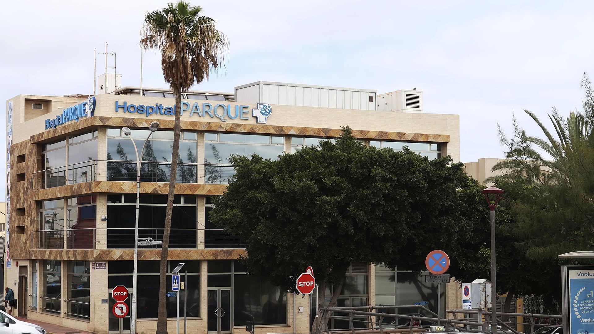 Clinica Hospital El Parque Puerto del Rosario Fuerteventura.