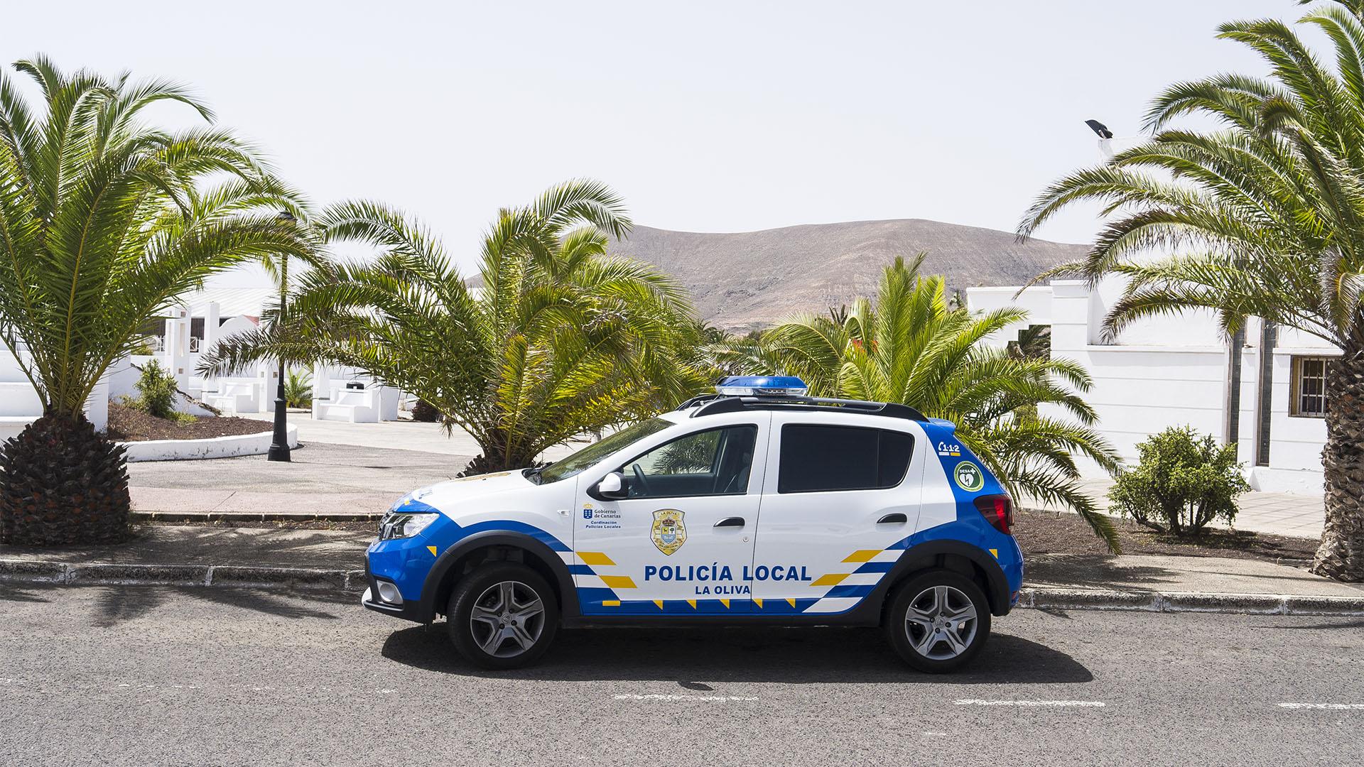 Sicherheit auf Fuerteventura: Policia Local.