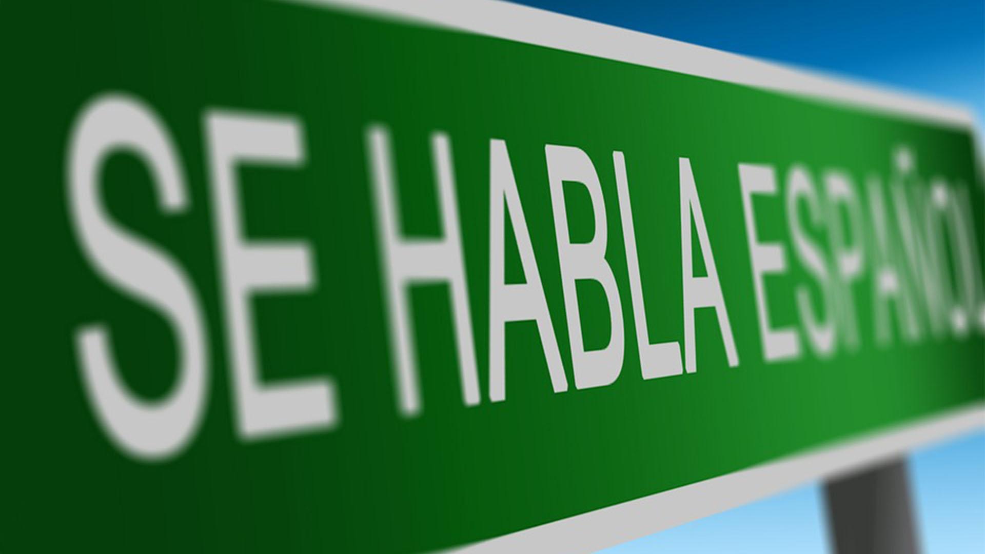 Die Sprache –wer bleiben will muss Spanisch lernen.